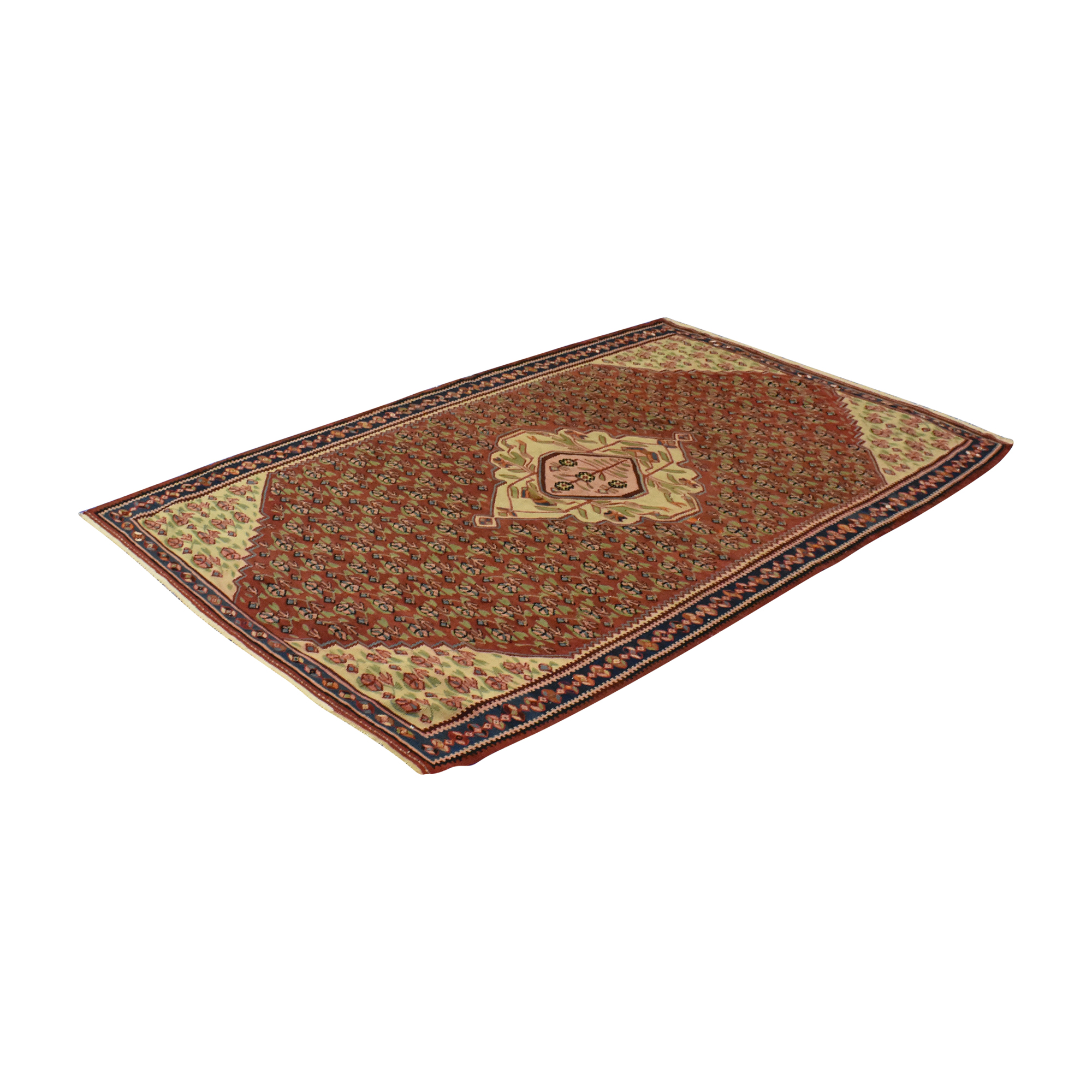 Patterned Area Rug second hand