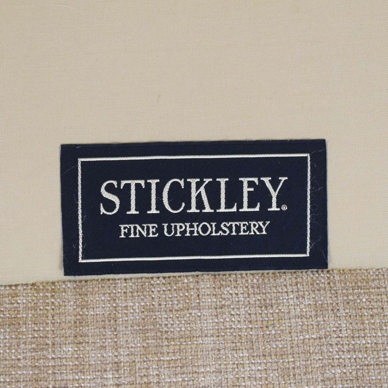Stickley Furniture Stickley Furniture Apostrophe Arm Sofa dimensions