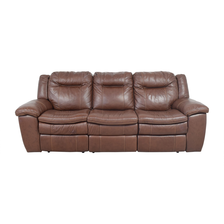 Costco Costco Lillian Reclining Sofa for sale