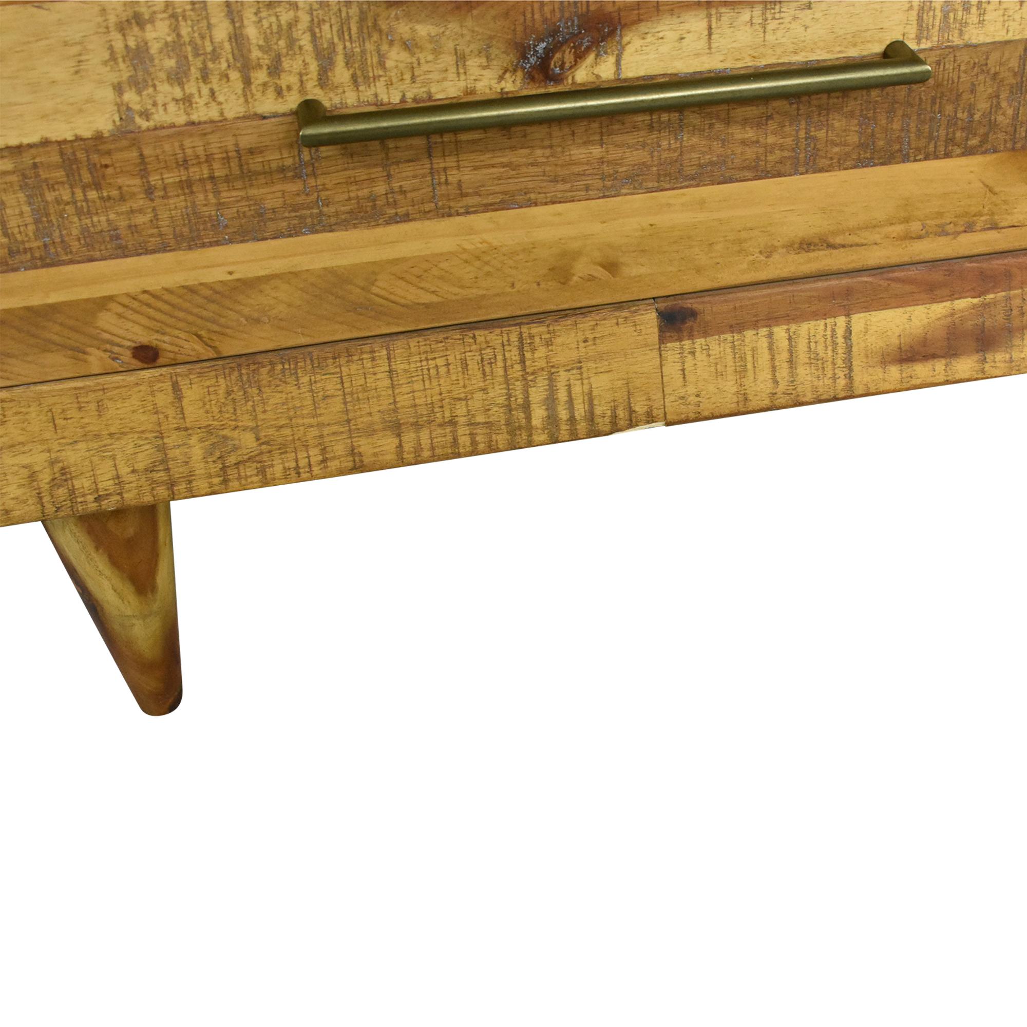 West Elm Alexa Reclaimed Seven Drawer Dresser / Dressers