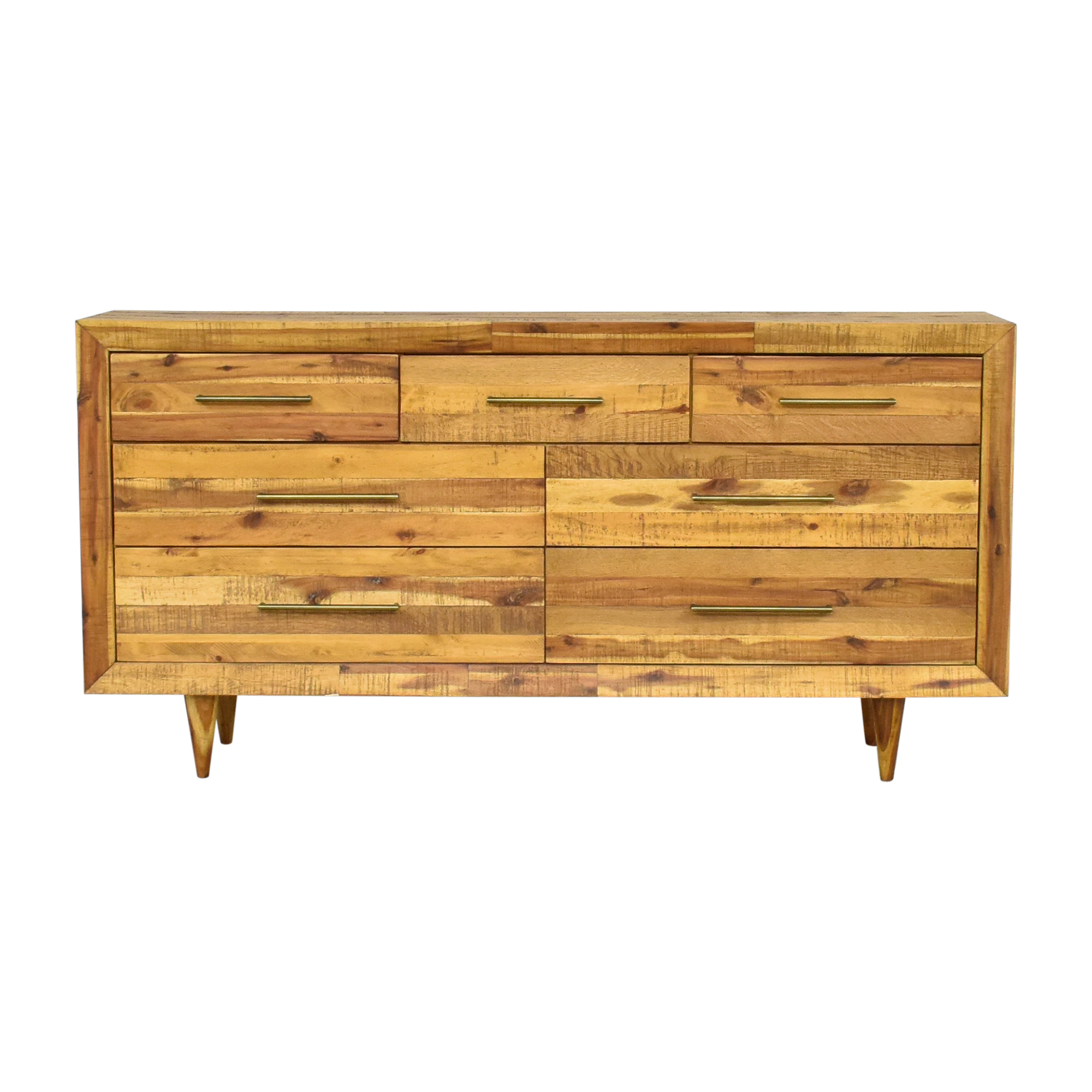 West Elm West Elm Alexa Reclaimed Seven Drawer Dresser ct
