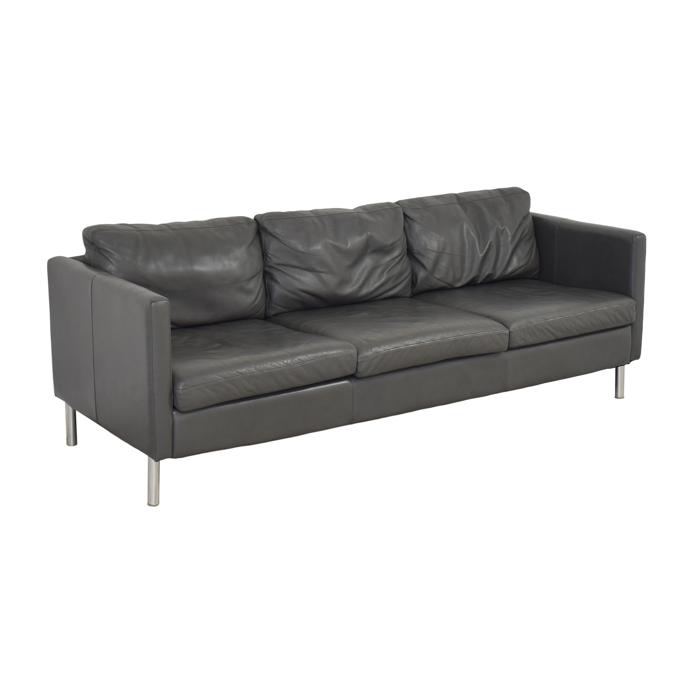 American Leather American Leather Three Cushion Sofa used