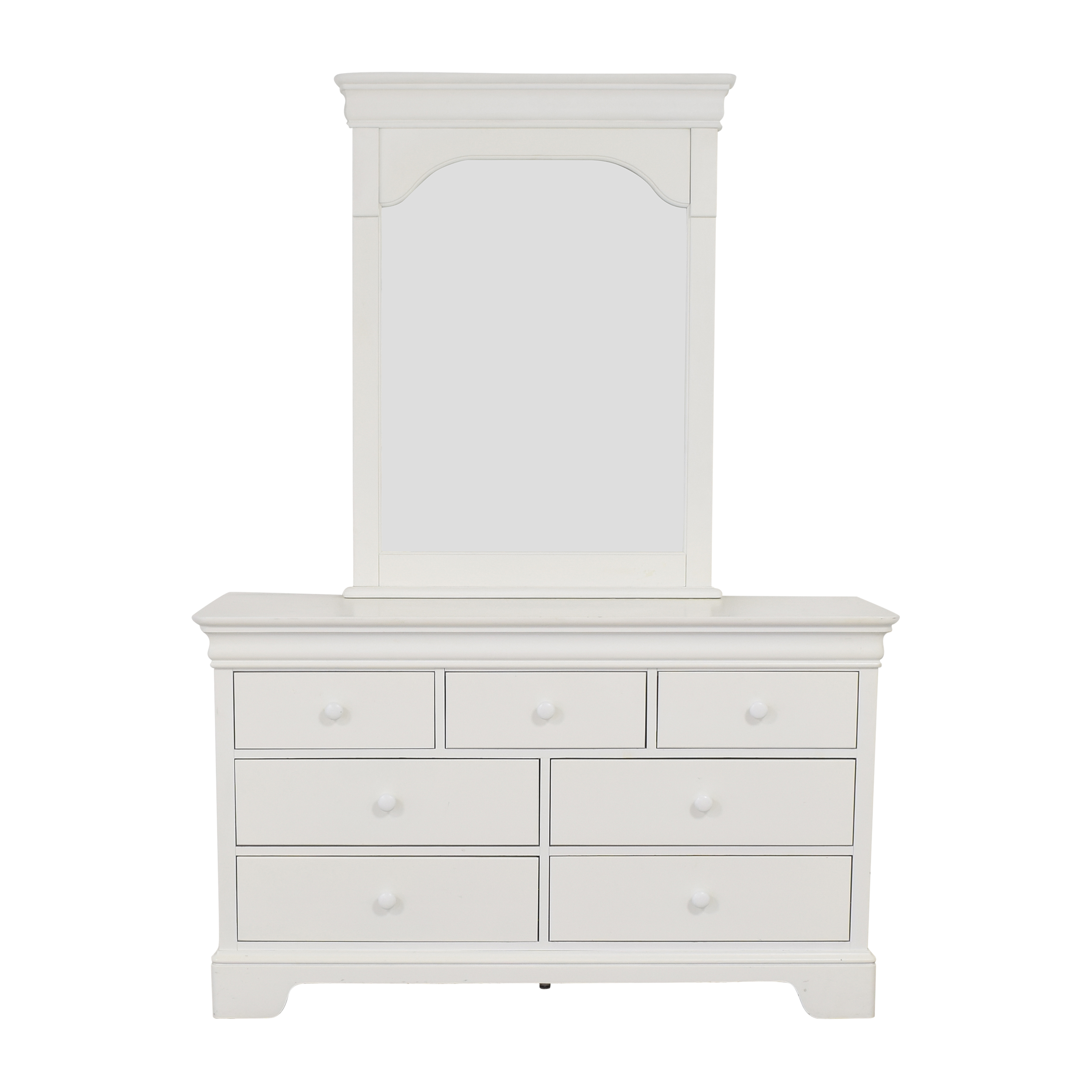 buy Stanley Furniture Young America Dresser with Mirror Stanley Furniture Storage