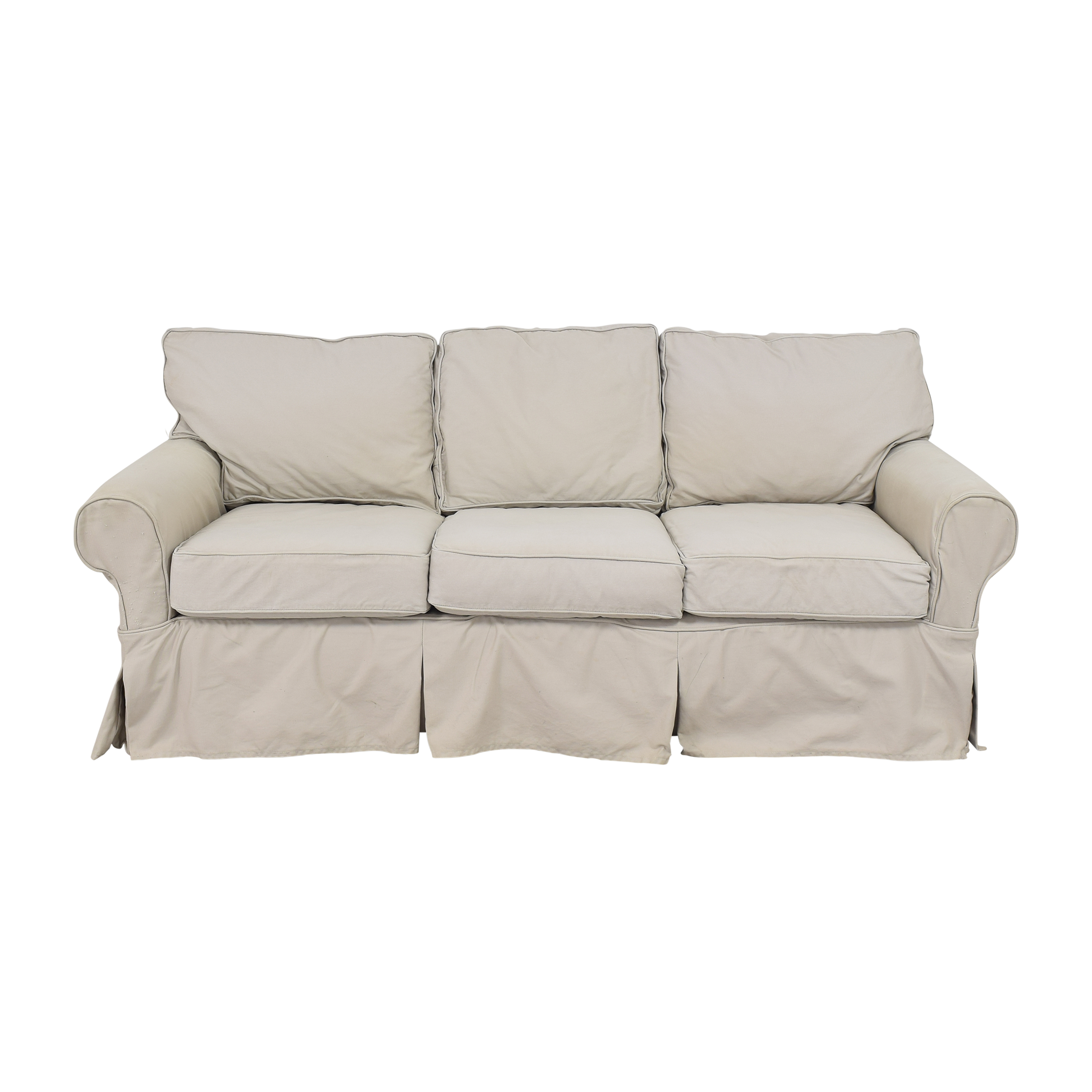 buy Mitchell Gold Roll Arm Slipcovered Sofa Mitchell Gold + Bob Williams