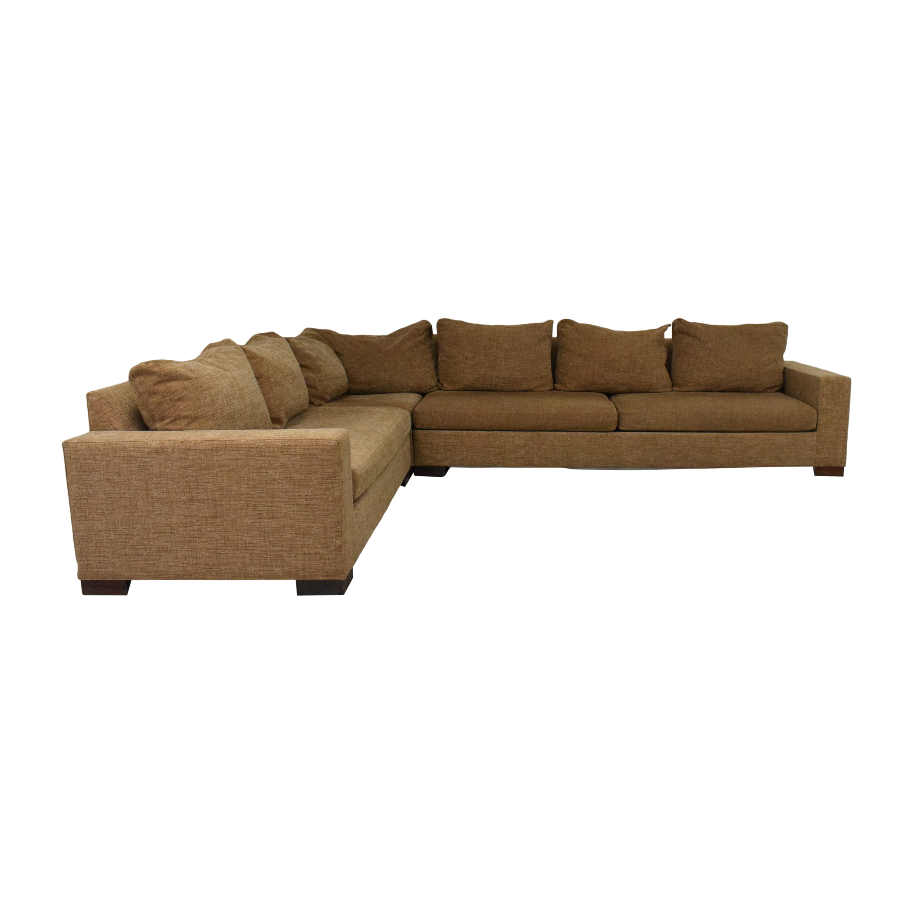 Track Arm Corner Sectional Sofa for sale