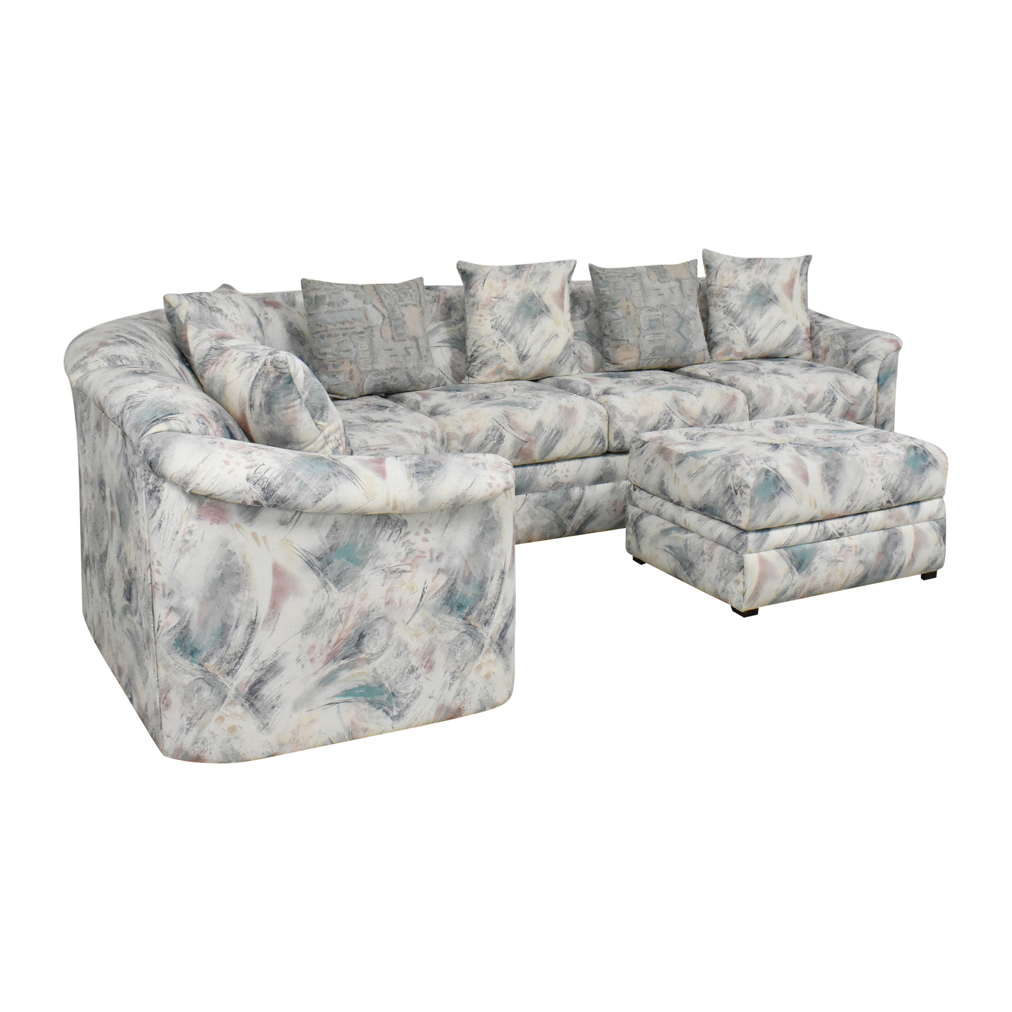 Schweiger Industries Schweiger L Shaped Sectional used