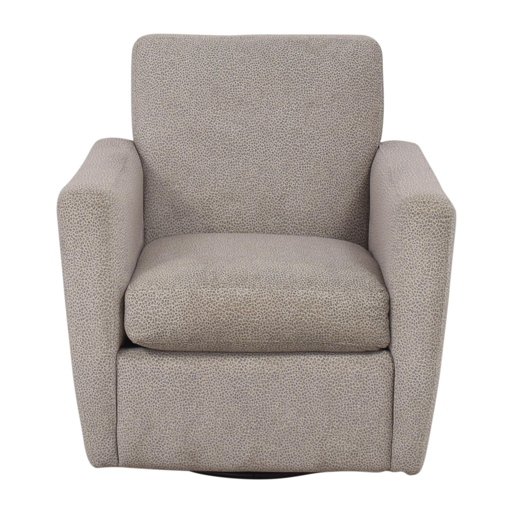 Macy's Macy's Ventura Swivel Chair Chairs