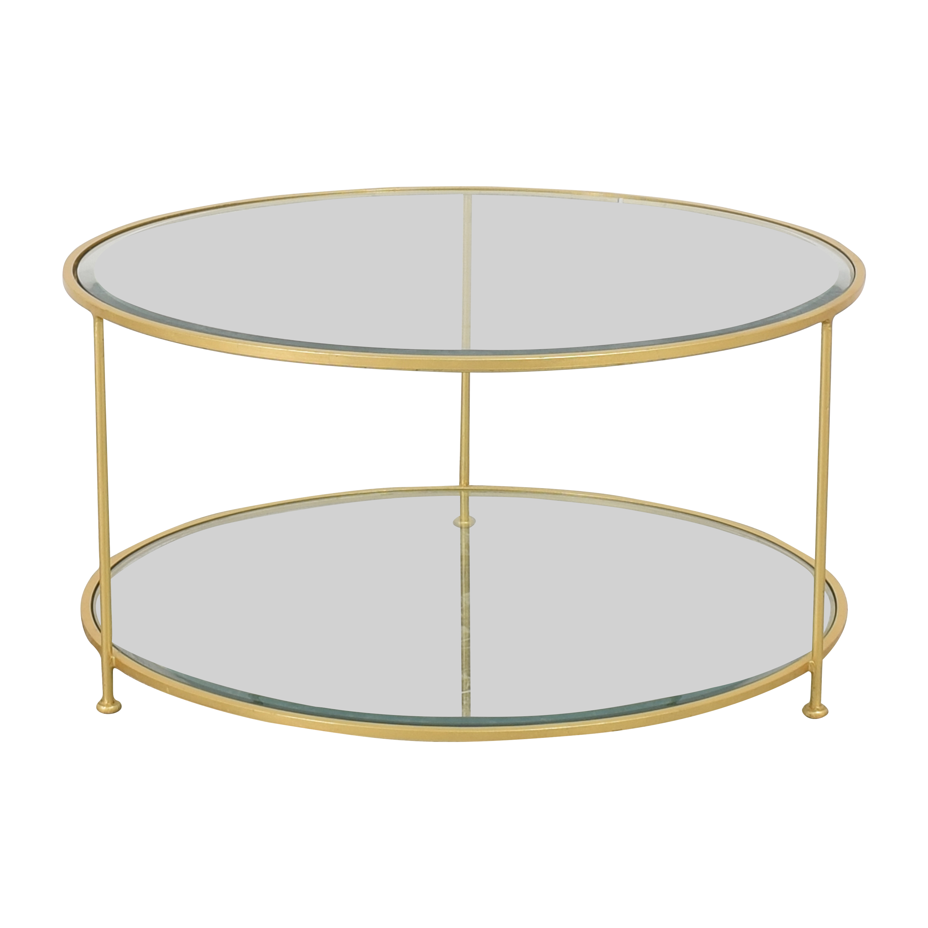Worlds Away Worlds Away Rollo G Coffee Table used