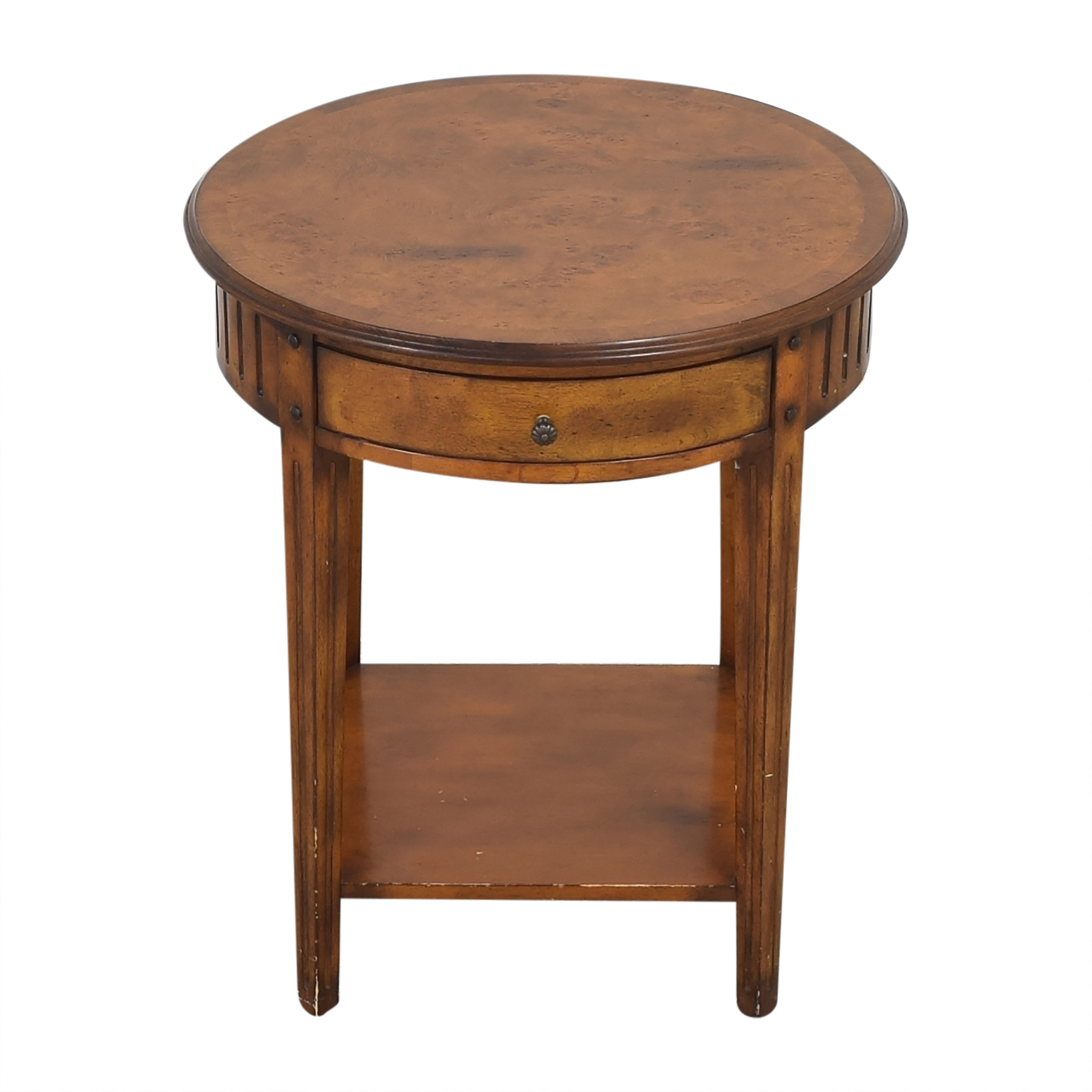 Accents Beyond Accents Beyond Round End Table dimensions