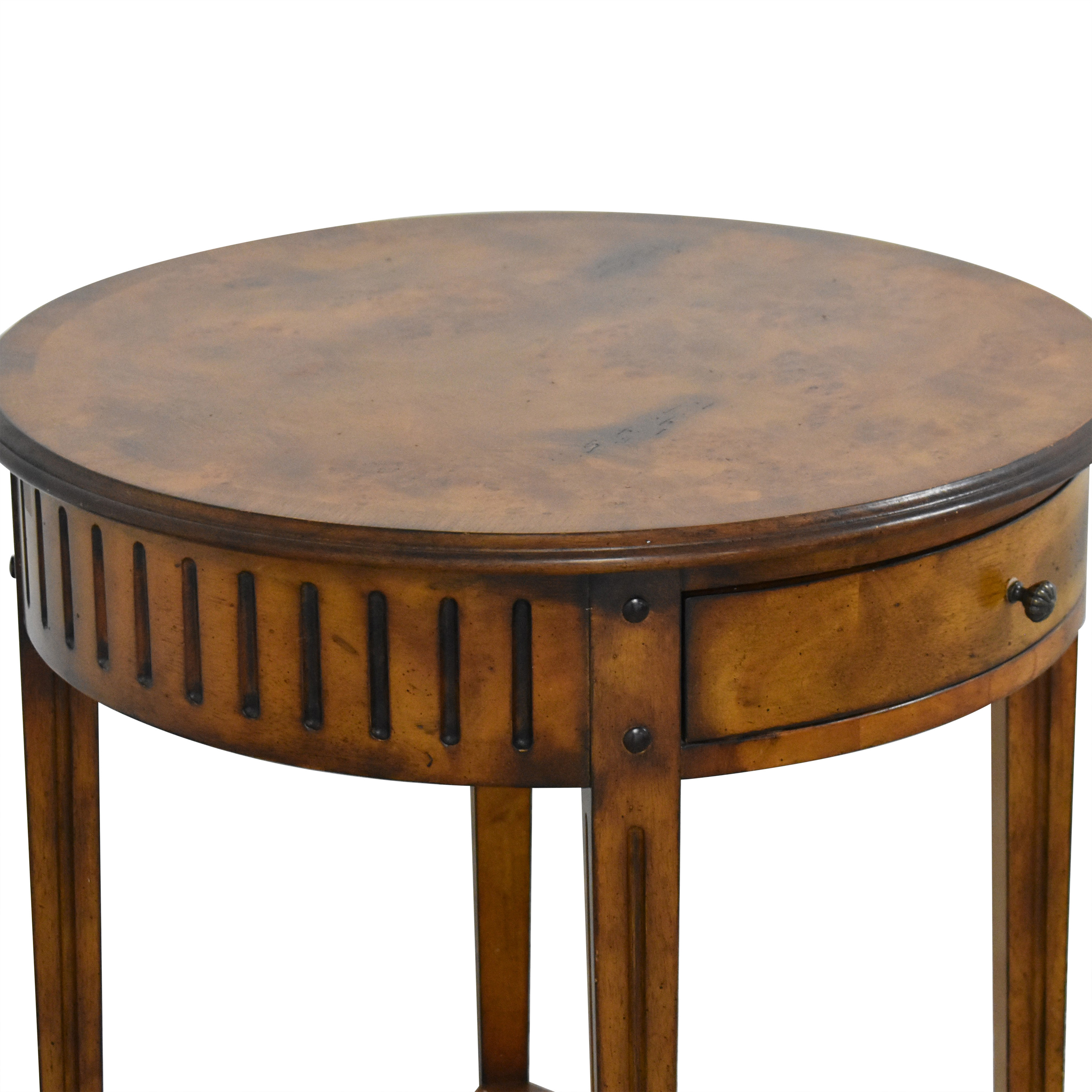 buy Accents Beyond Round End Table Accents Beyond