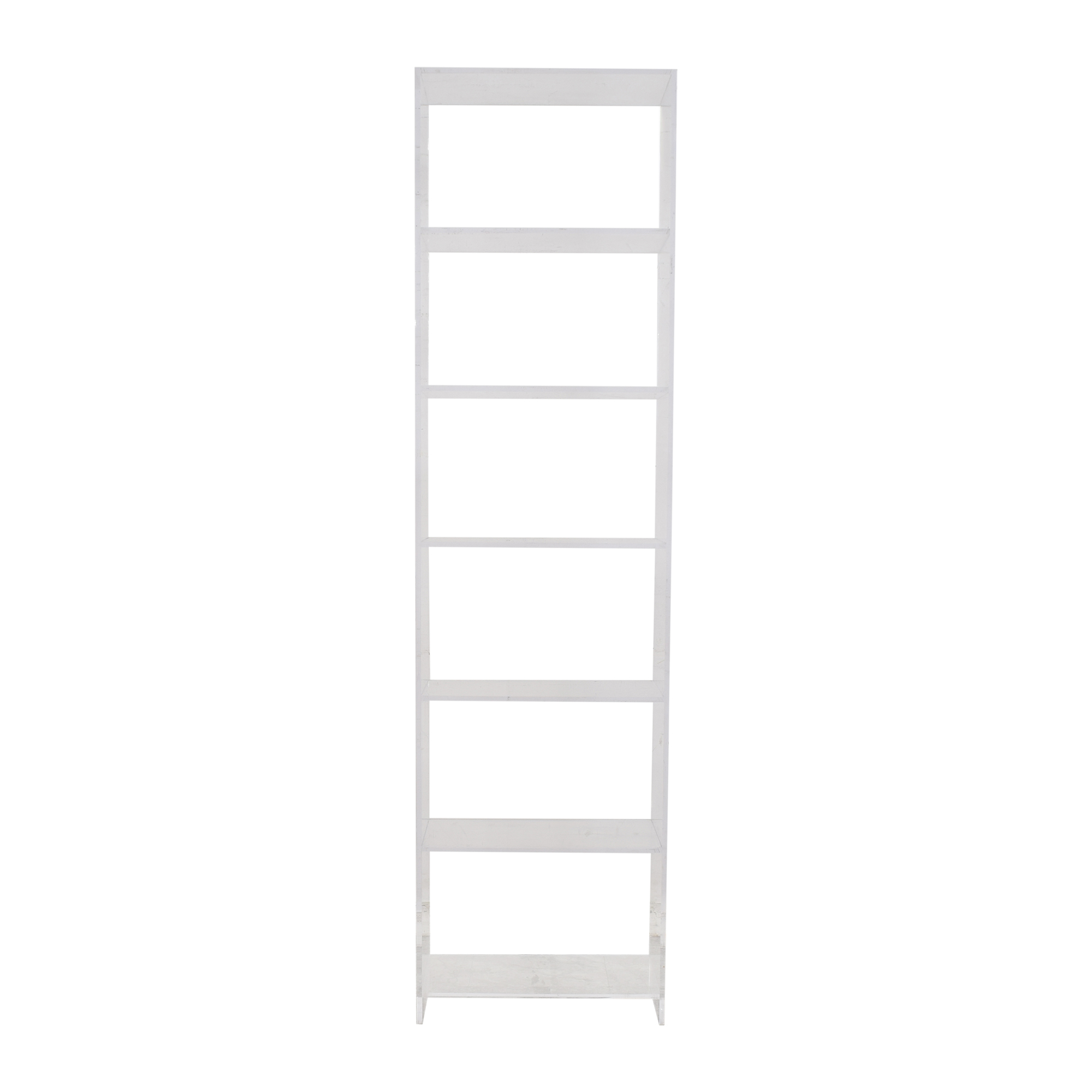 Custom Translucent Bookcase Bookcases & Shelving