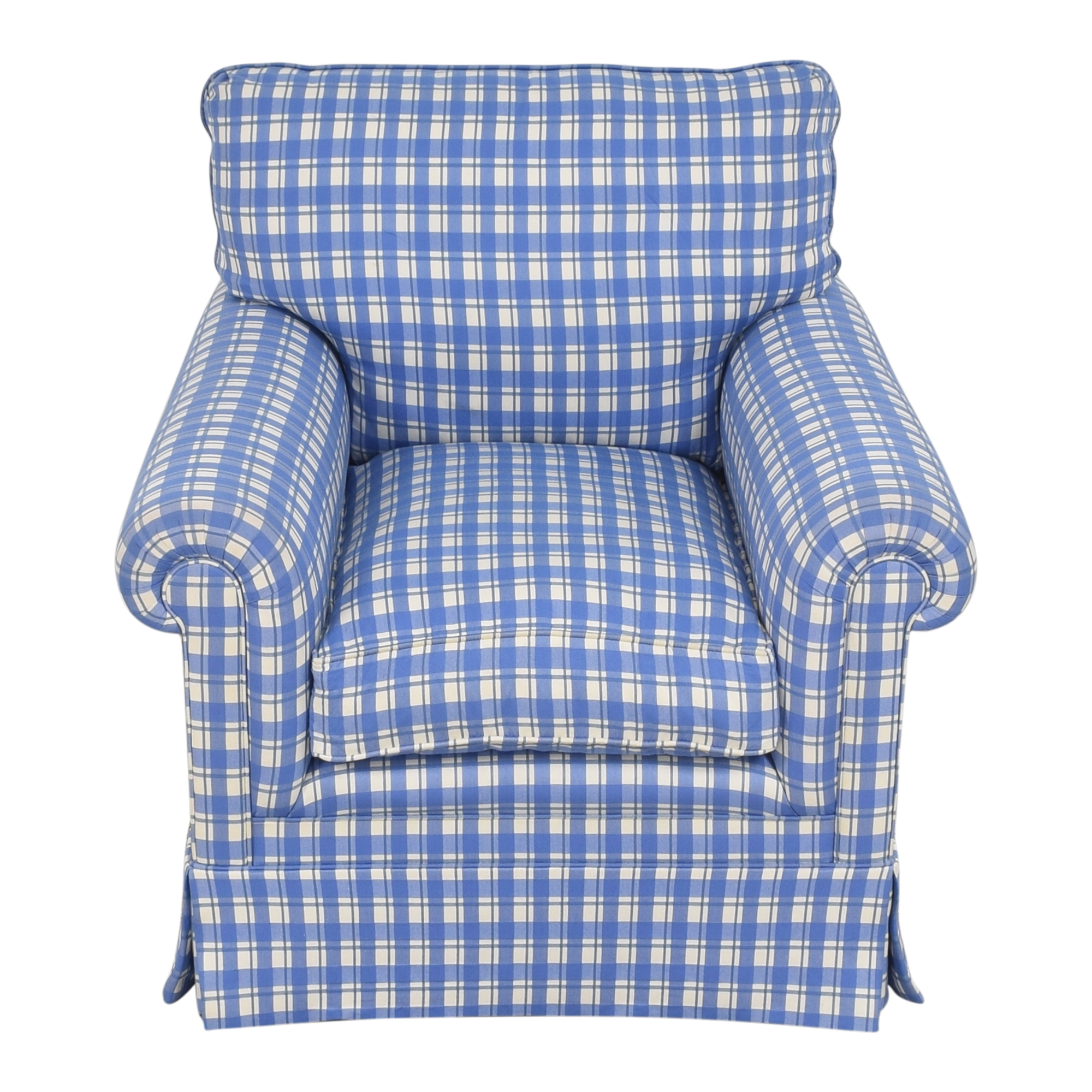 George Smith George Smith Roll Arm Accent Chair