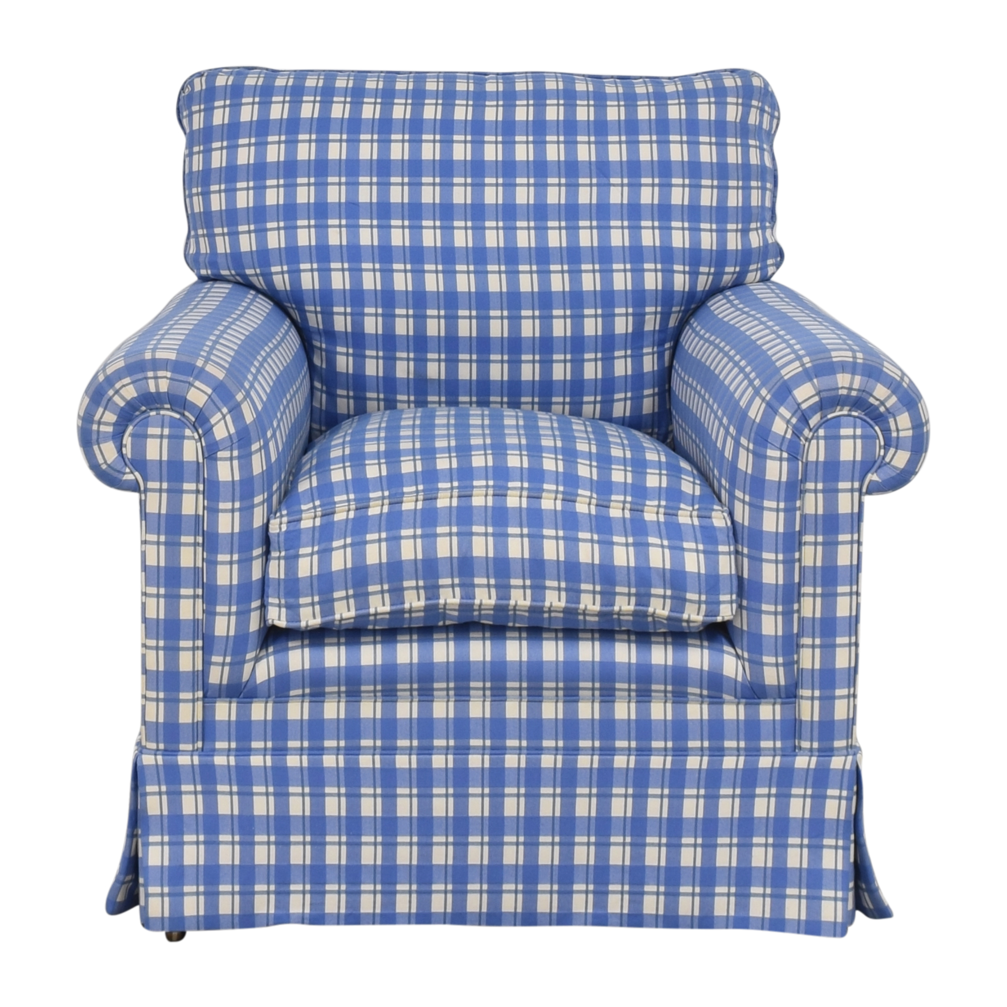 George Smith George Smith Roll Arm Accent Chair Accent Chairs