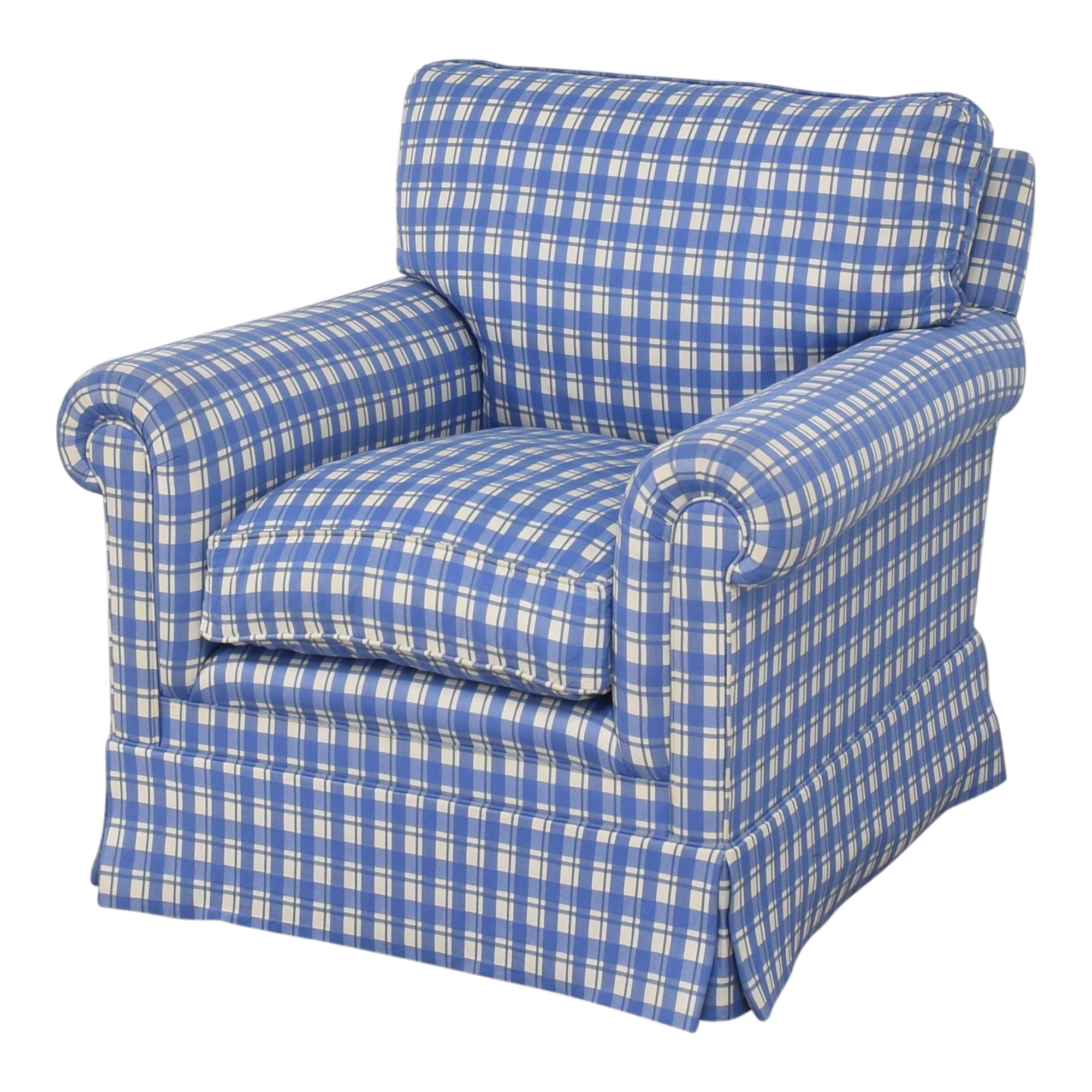 George Smith George Smith Roll Arm Accent Chair price
