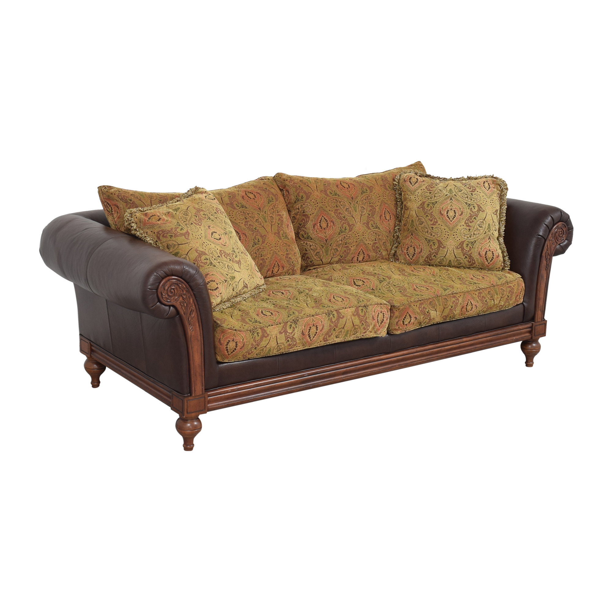 Ethan Allen Ethan Allen Pratt Sofa dimensions