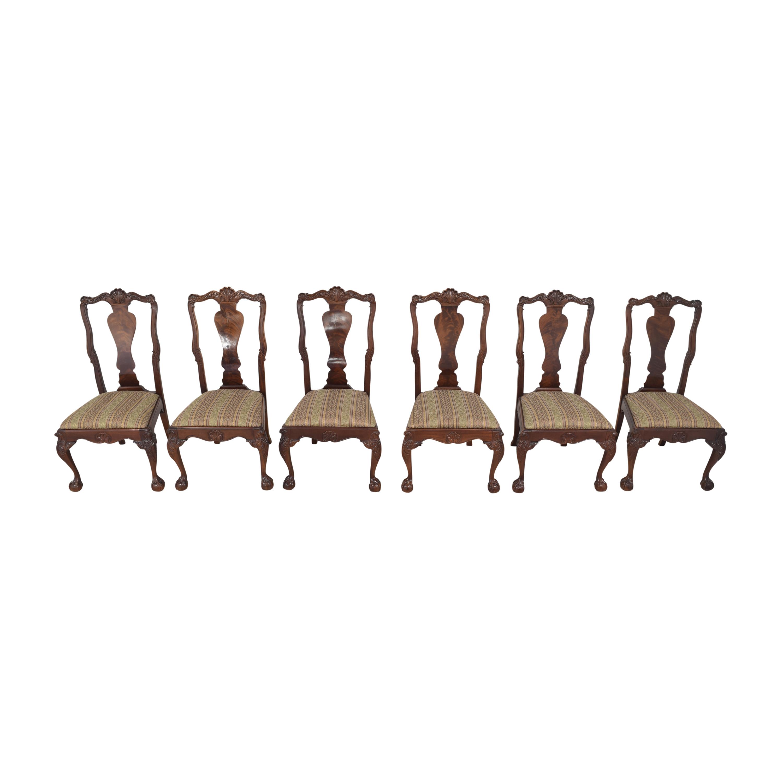 Bernhardt Bernhardt Centennial Collection Georgian Chippendale Dining Chairs nyc