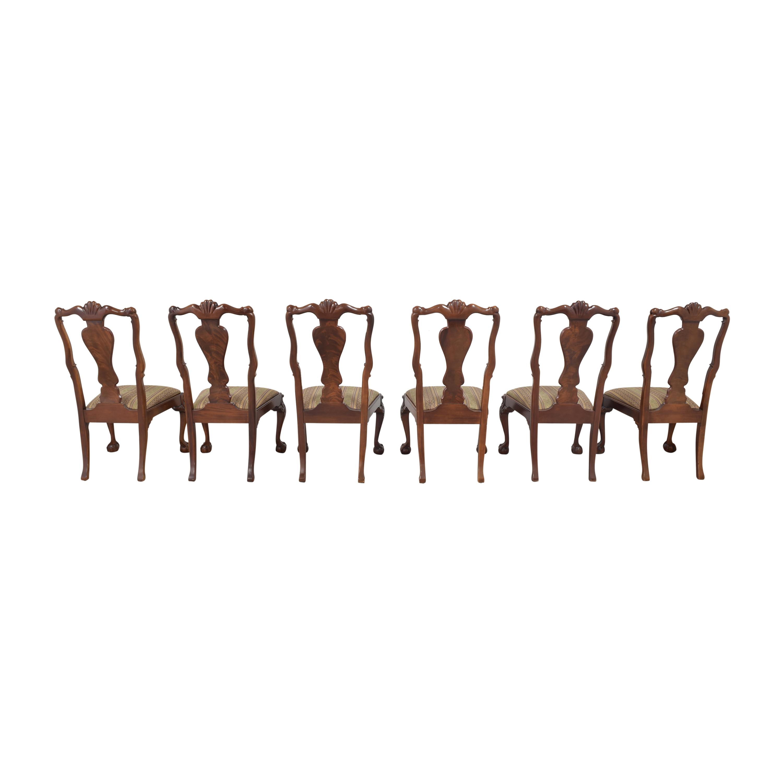 Bernhardt Bernhardt Centennial Collection Georgian Chippendale Dining Chairs on sale