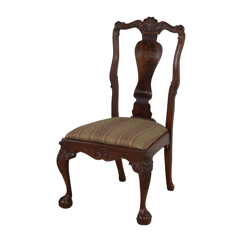 shop Bernhardt Centennial Collection Georgian Chippendale Dining Chairs Bernhardt Dining Chairs