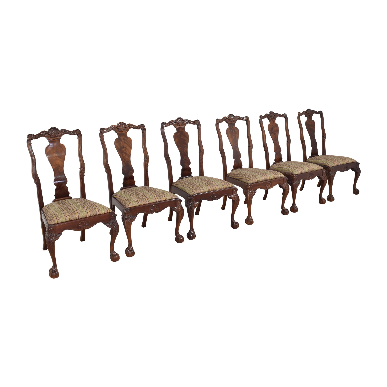 Bernhardt Bernhardt Centennial Collection Georgian Chippendale Dining Chairs Chairs