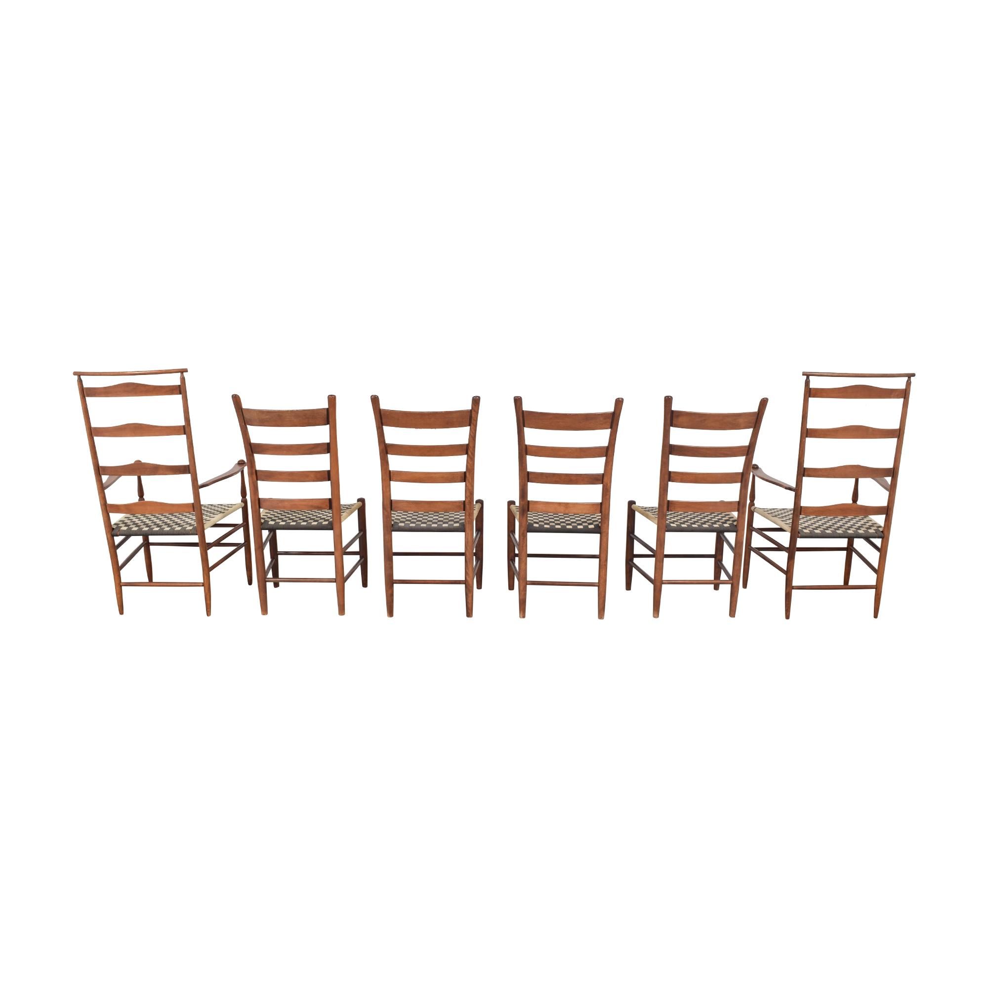 Nichols & Stone Nichols & Stone Ladder Back Dining Chairs second hand