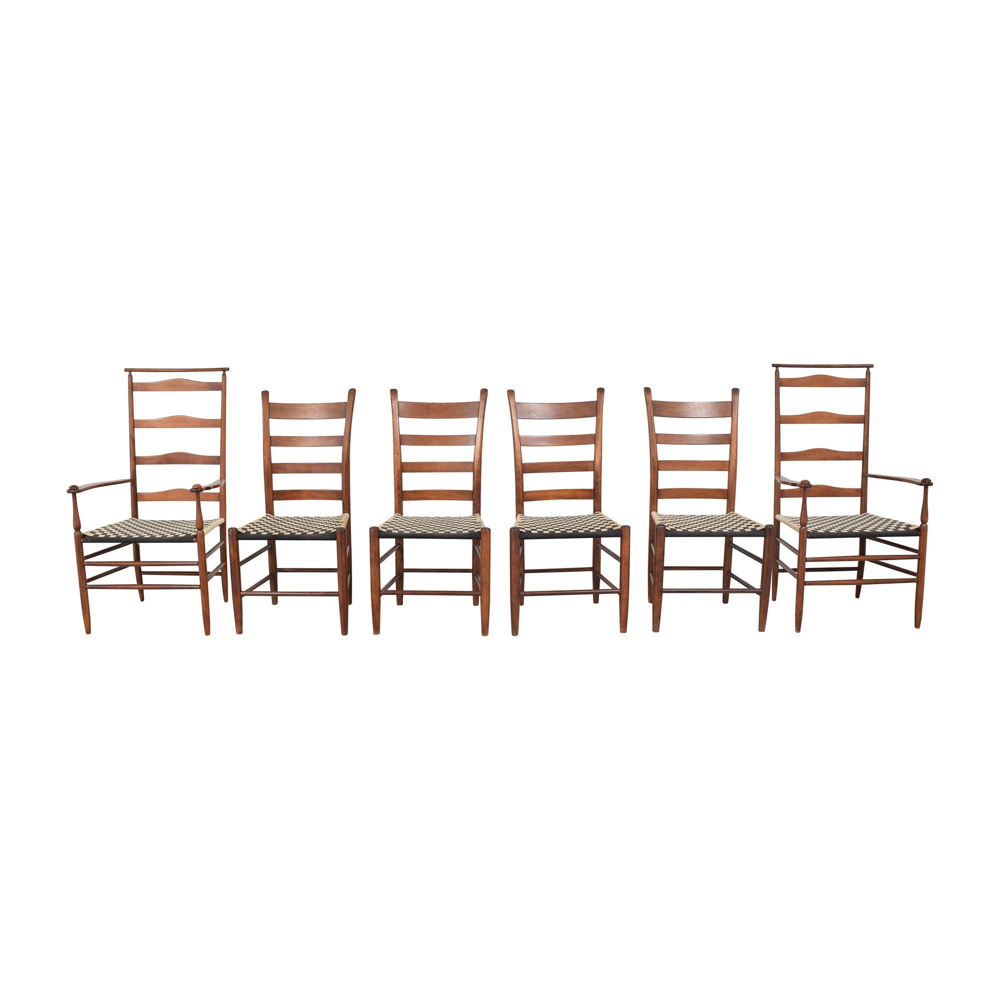 shop Nichols & Stone Ladder Back Dining Chairs Nichols & Stone
