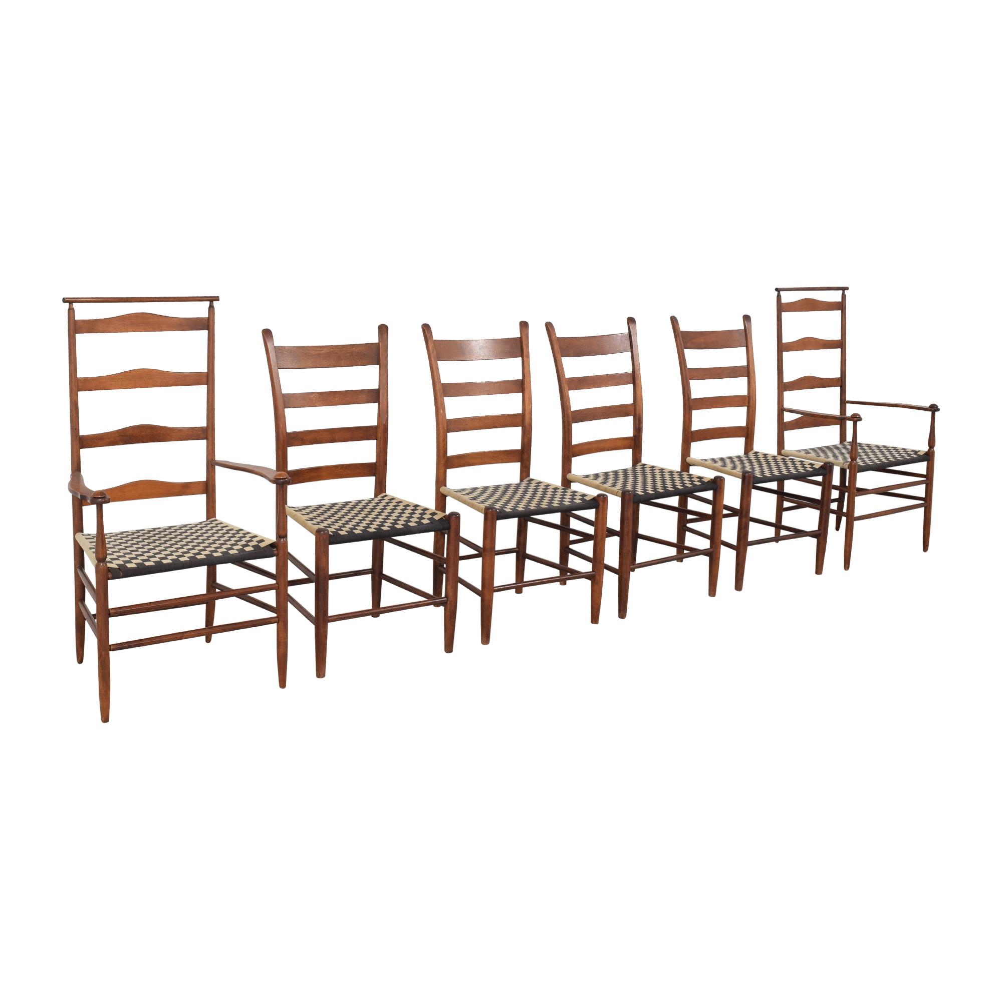 Nichols & Stone Nichols & Stone Ladder Back Dining Chairs pa