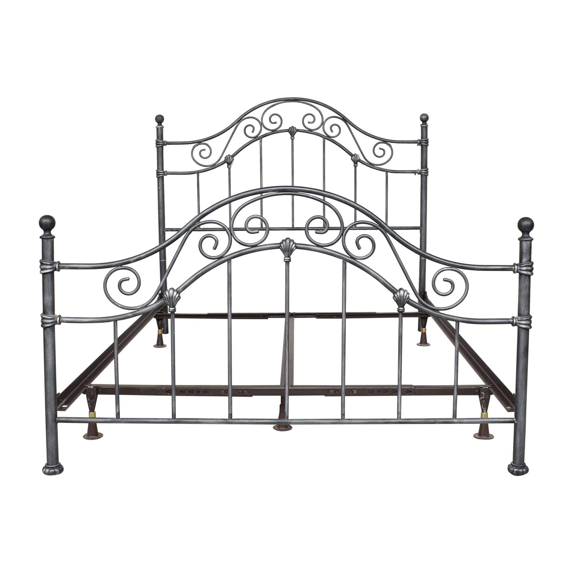 buy Vintage-Style Queen Bed  Beds
