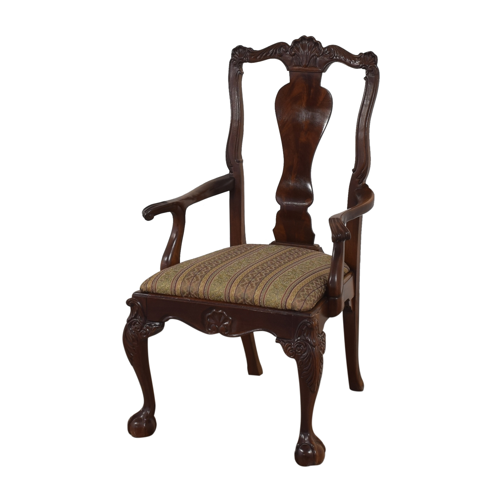 Bernhardt Centennial Collection Chippendale Dining Arm Chairs / Chairs