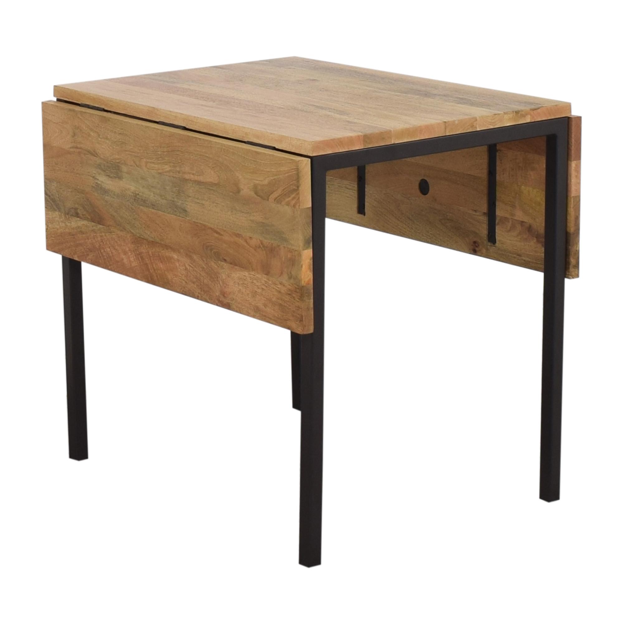 West Elm West Elm Box Frame Drop Leaf Table for sale
