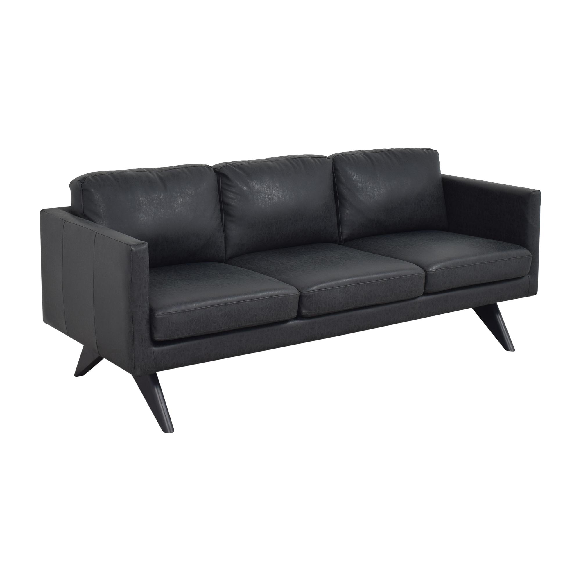 AllModern AllModern Square Arm Sofa dark gray