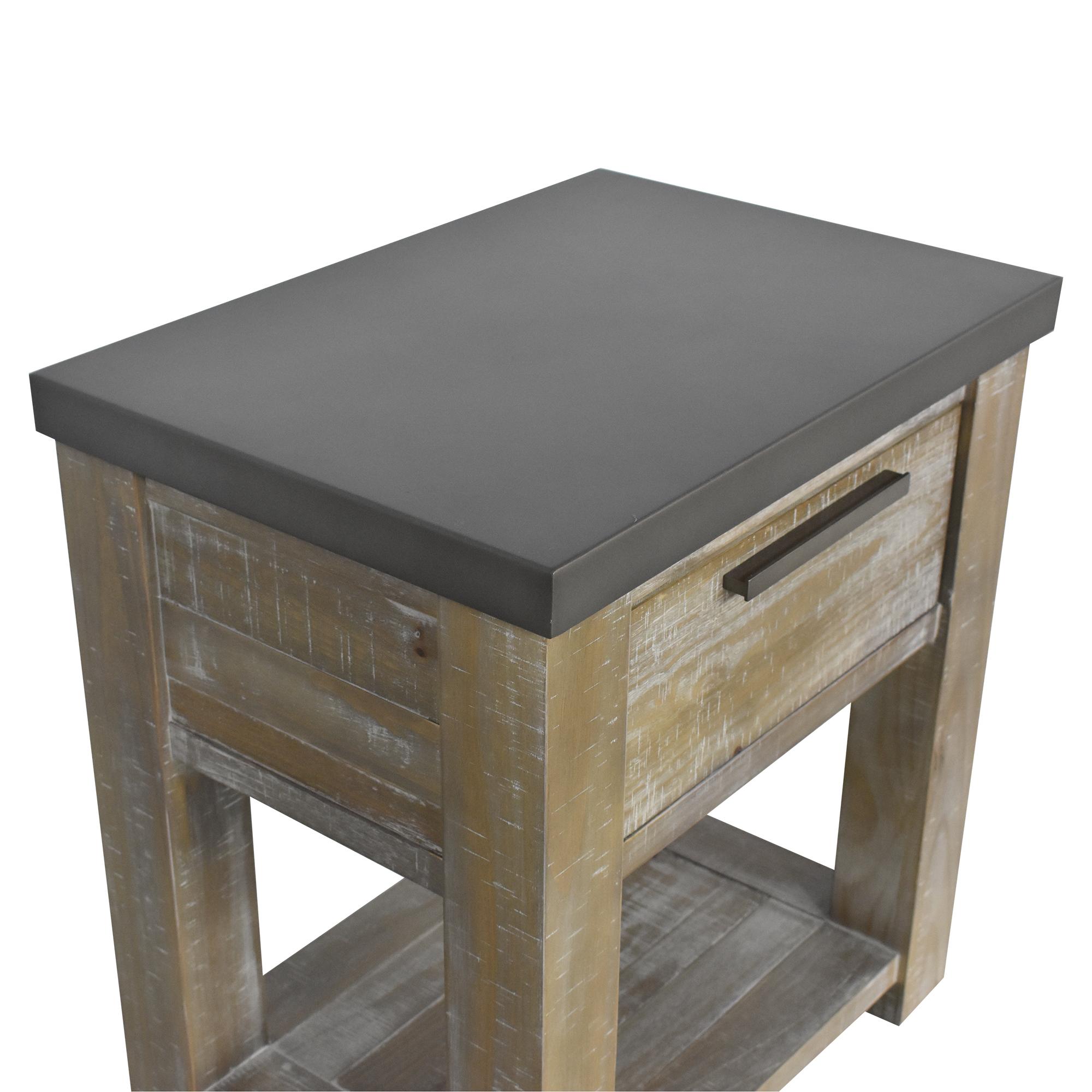 shop RH Teen Vaughn Nightstand Restoration Hardware End Tables