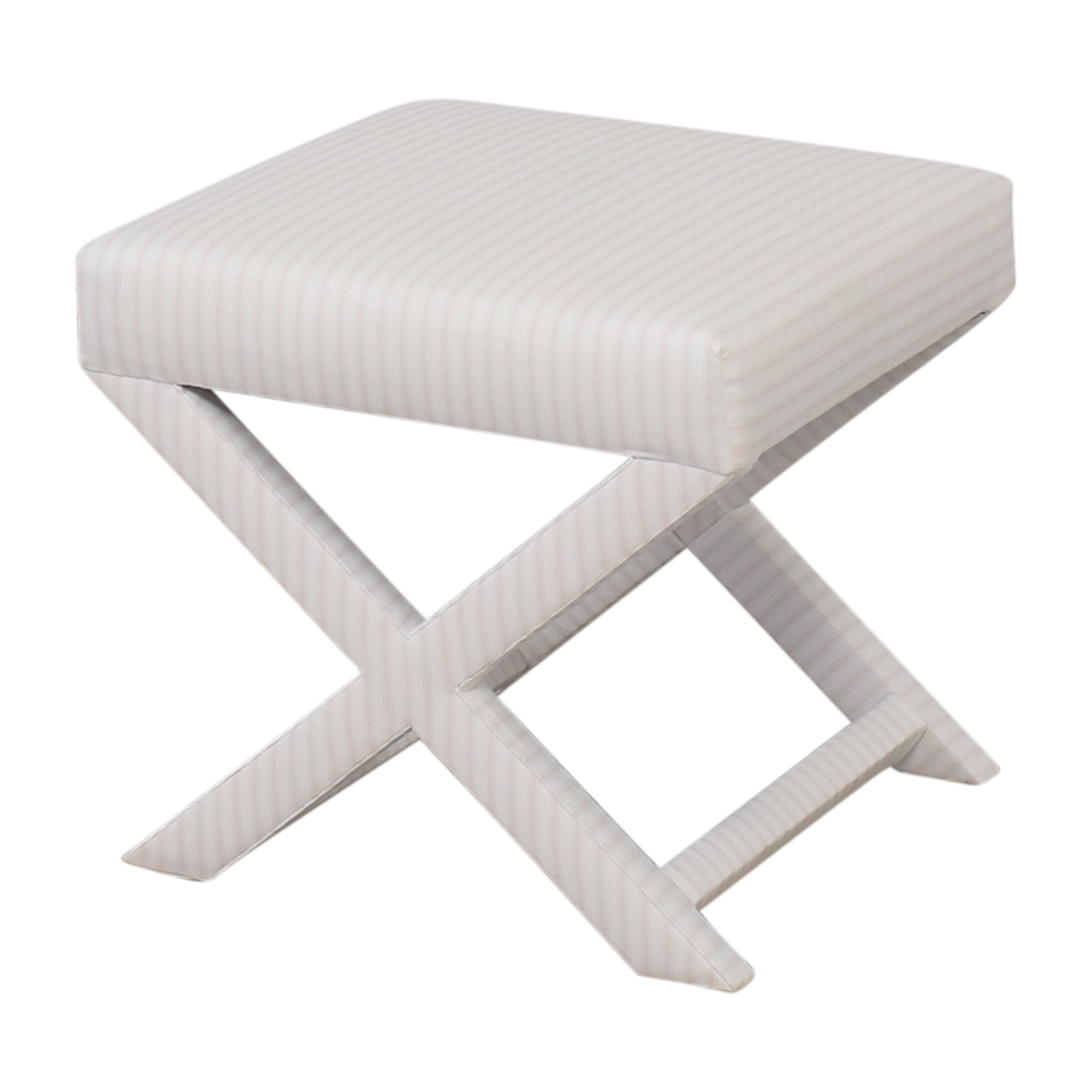 The Inside The Inside Classic Ticking Stripe X Bench for sale