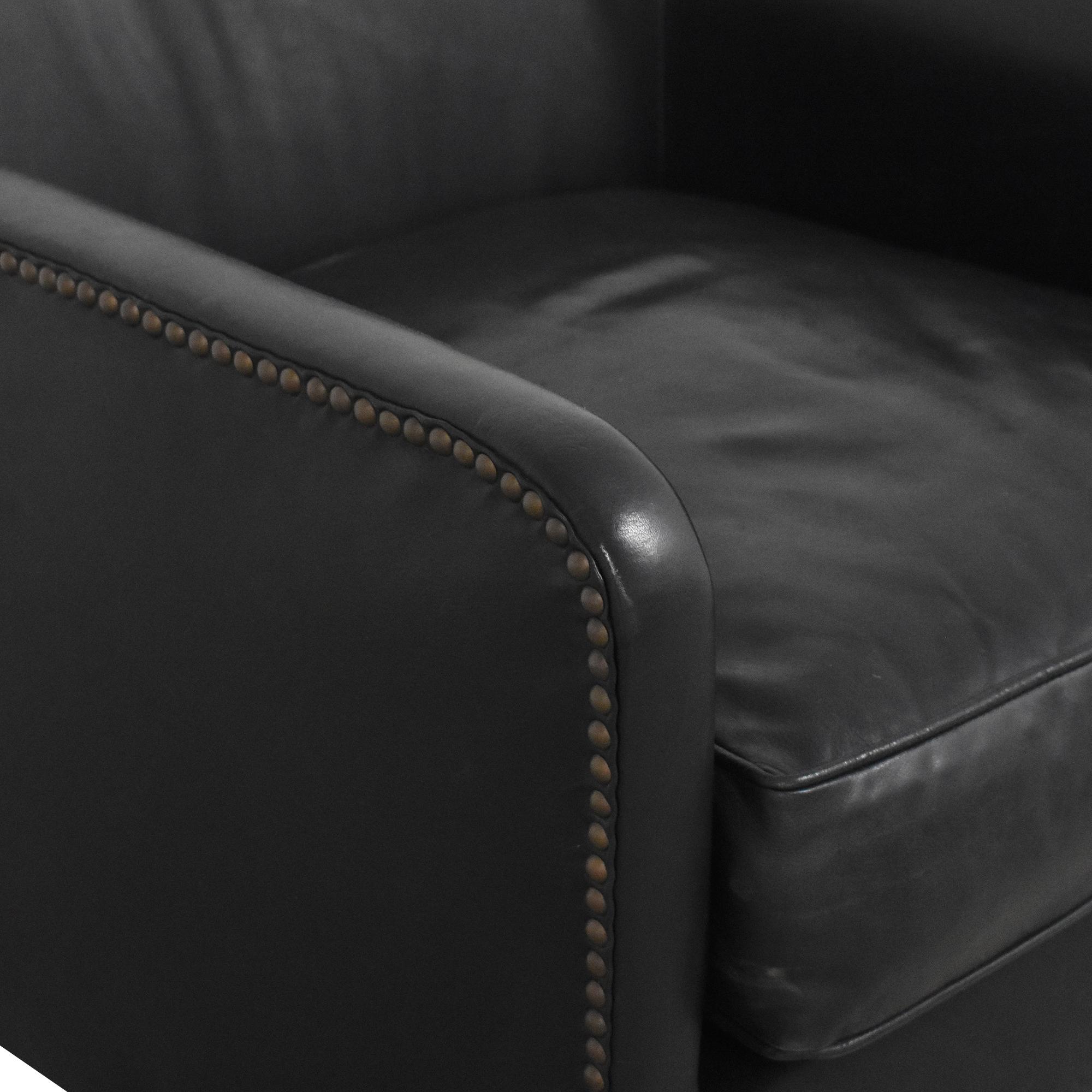 buy Restoration Hardware 1950s French Tuxedo Club Chair Restoration Hardware Chairs