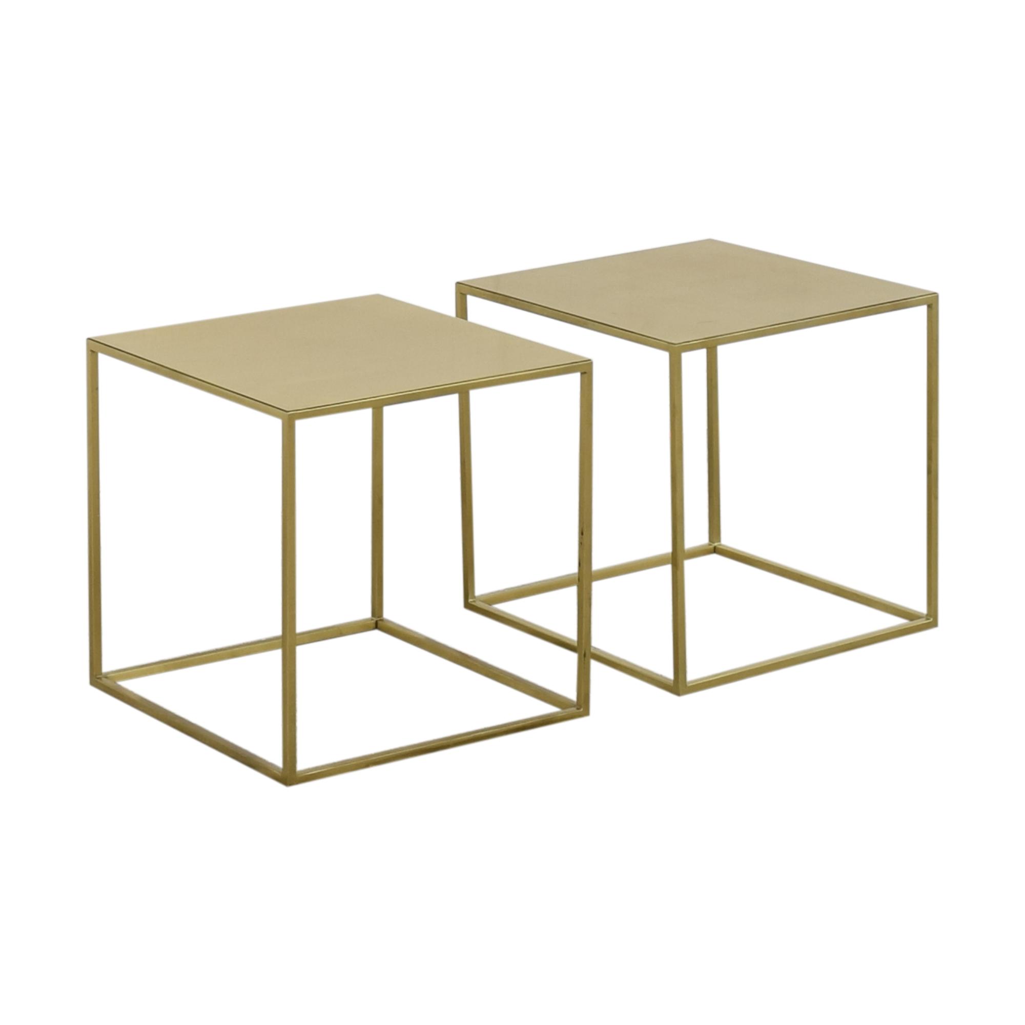 buy Custom Cube End Tables  End Tables