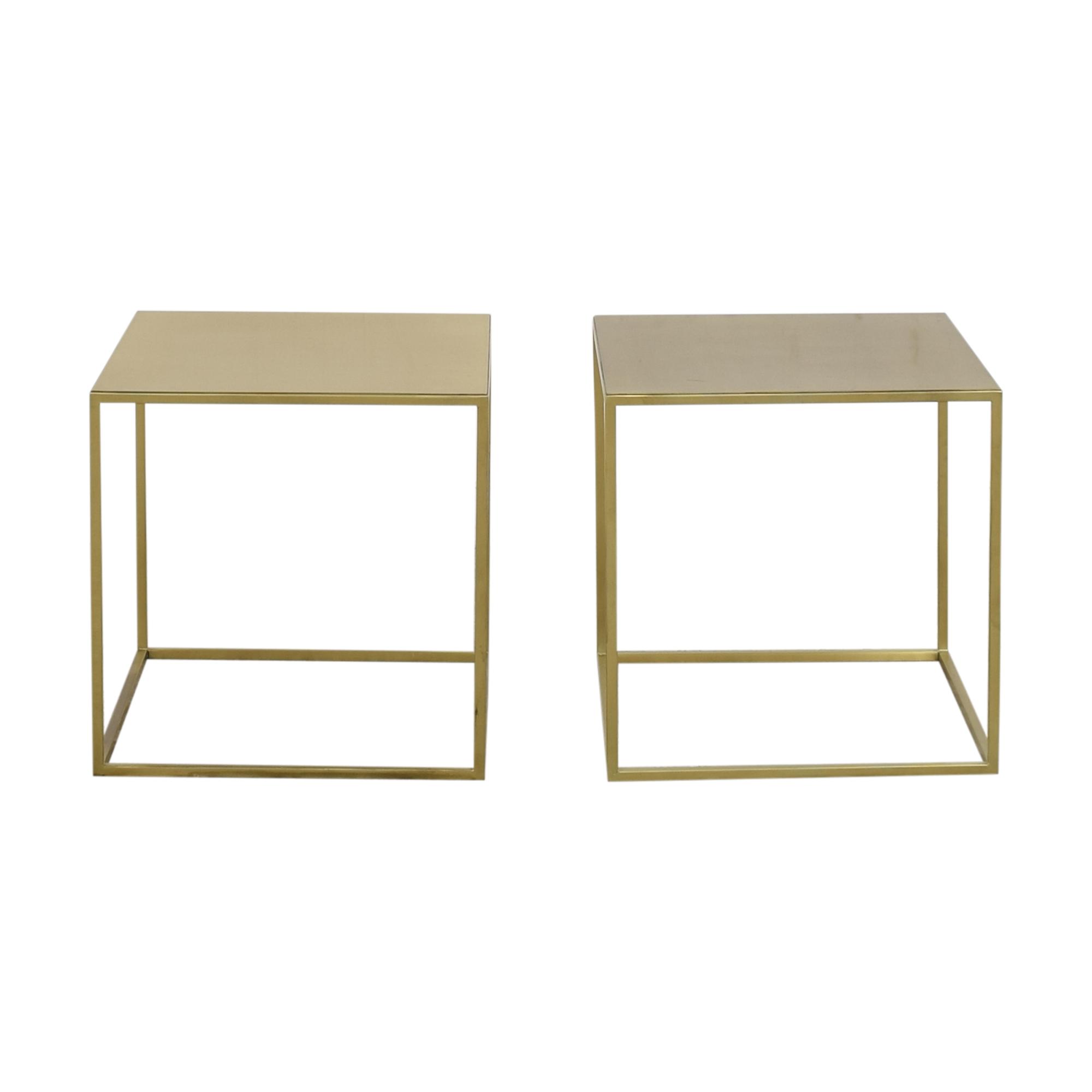 Custom Cube End Tables Tables