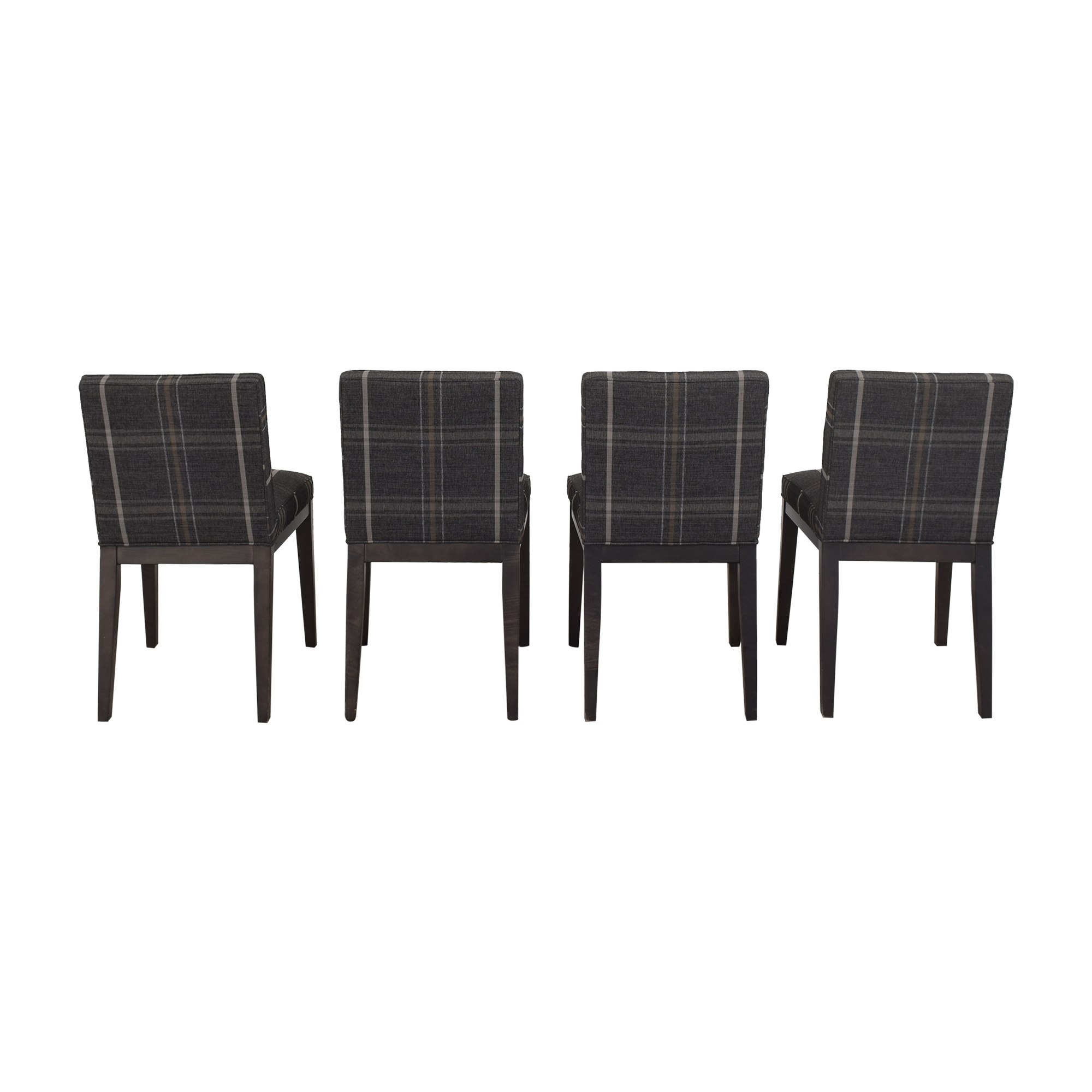 shop Room & Board Ansel Plaid Dining Chairs Room & Board Dining Chairs