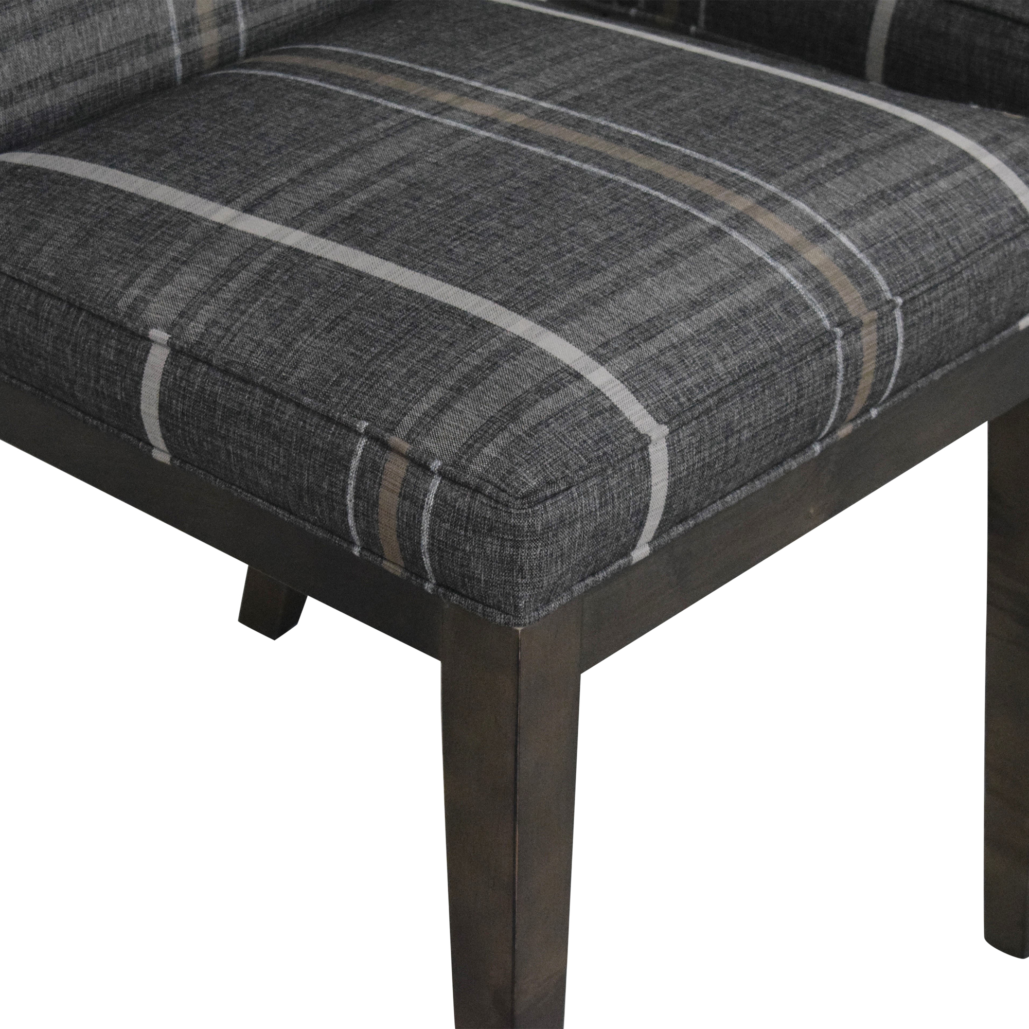 Room & Board Room & Board Ansel Plaid Dining Chairs price