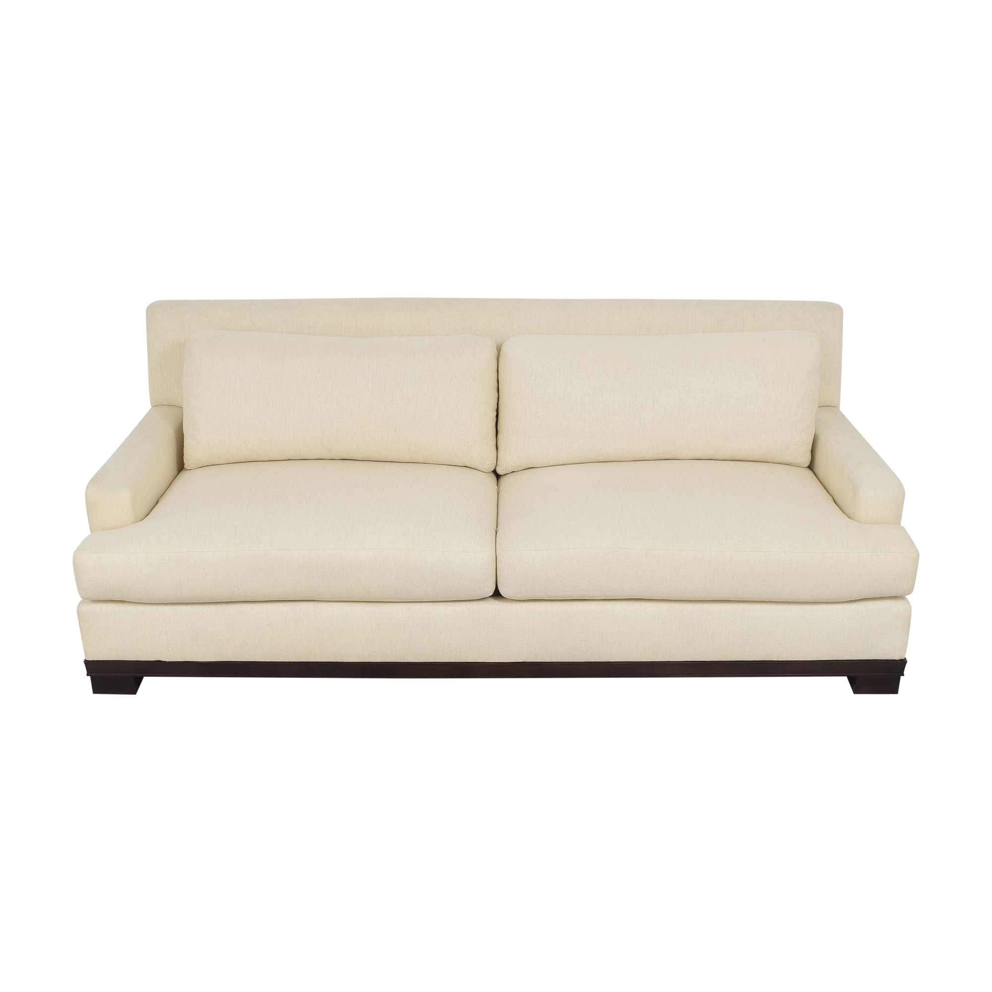Bloomingdale's Bloomingdale's by Barbara Barry Oval Collection Sofa nyc