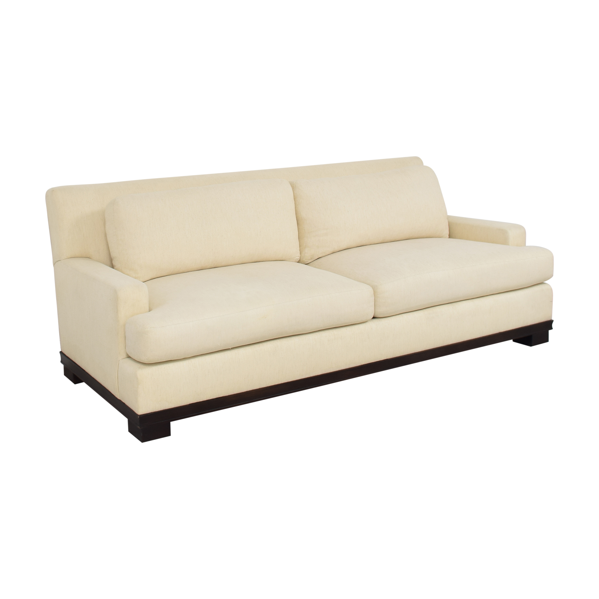Bloomingdale's Bloomingdale's by Barbara Barry Oval Collection Sofa dimensions