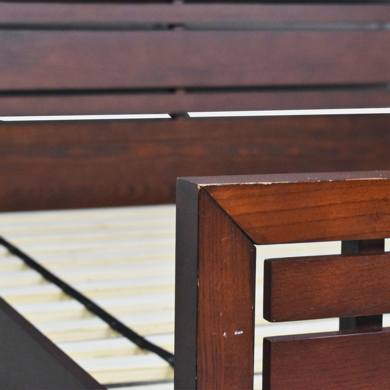 Crate & Barrel Crate & Barrel Queen Bed