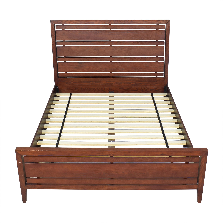 shop Crate & Barrel Queen Bed Crate & Barrel Bed Frames