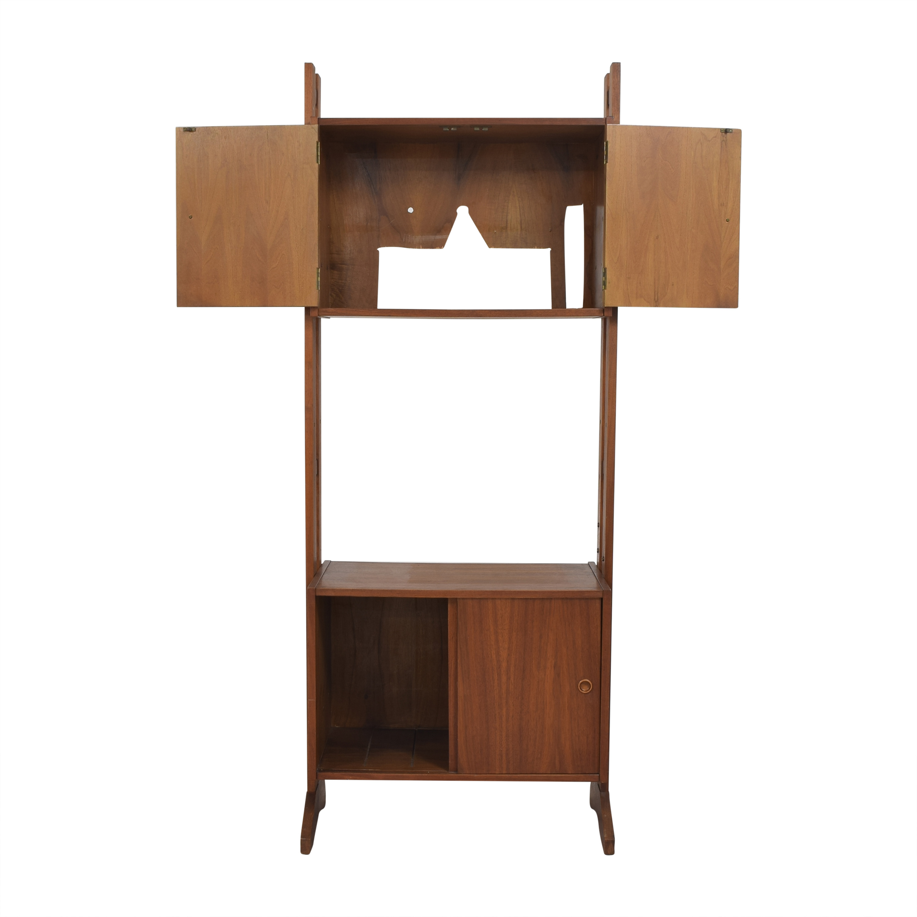 Mid-Century Tall Cabinet second hand
