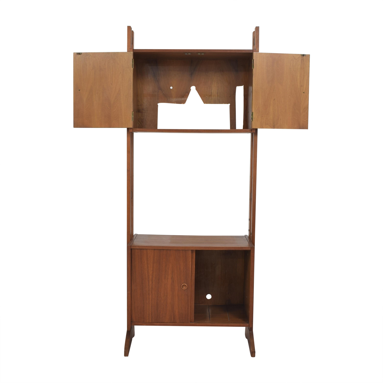 shop Mid-Century Tall Cabinet  Storage