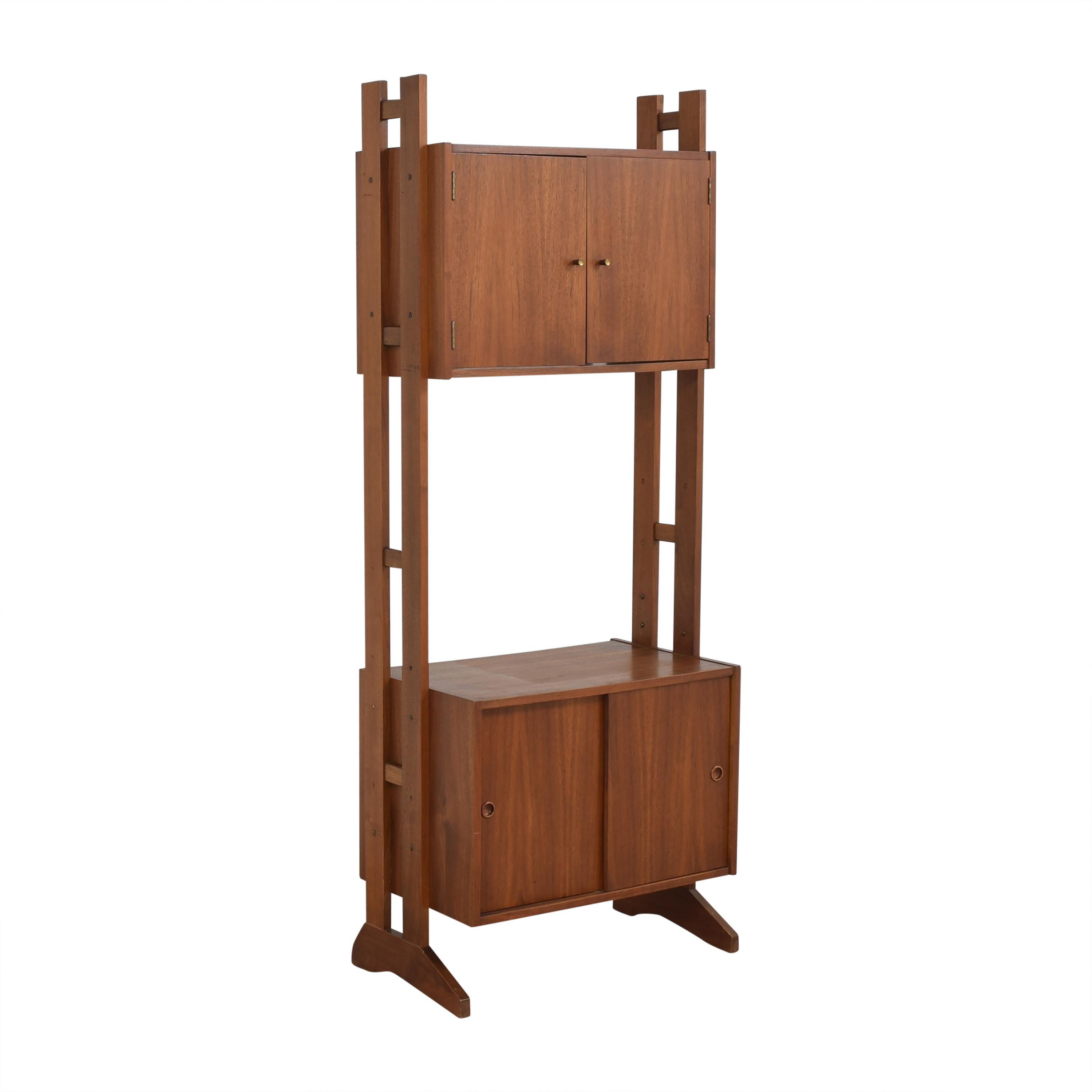 shop Mid-Century Tall Cabinet  Bookcases & Shelving