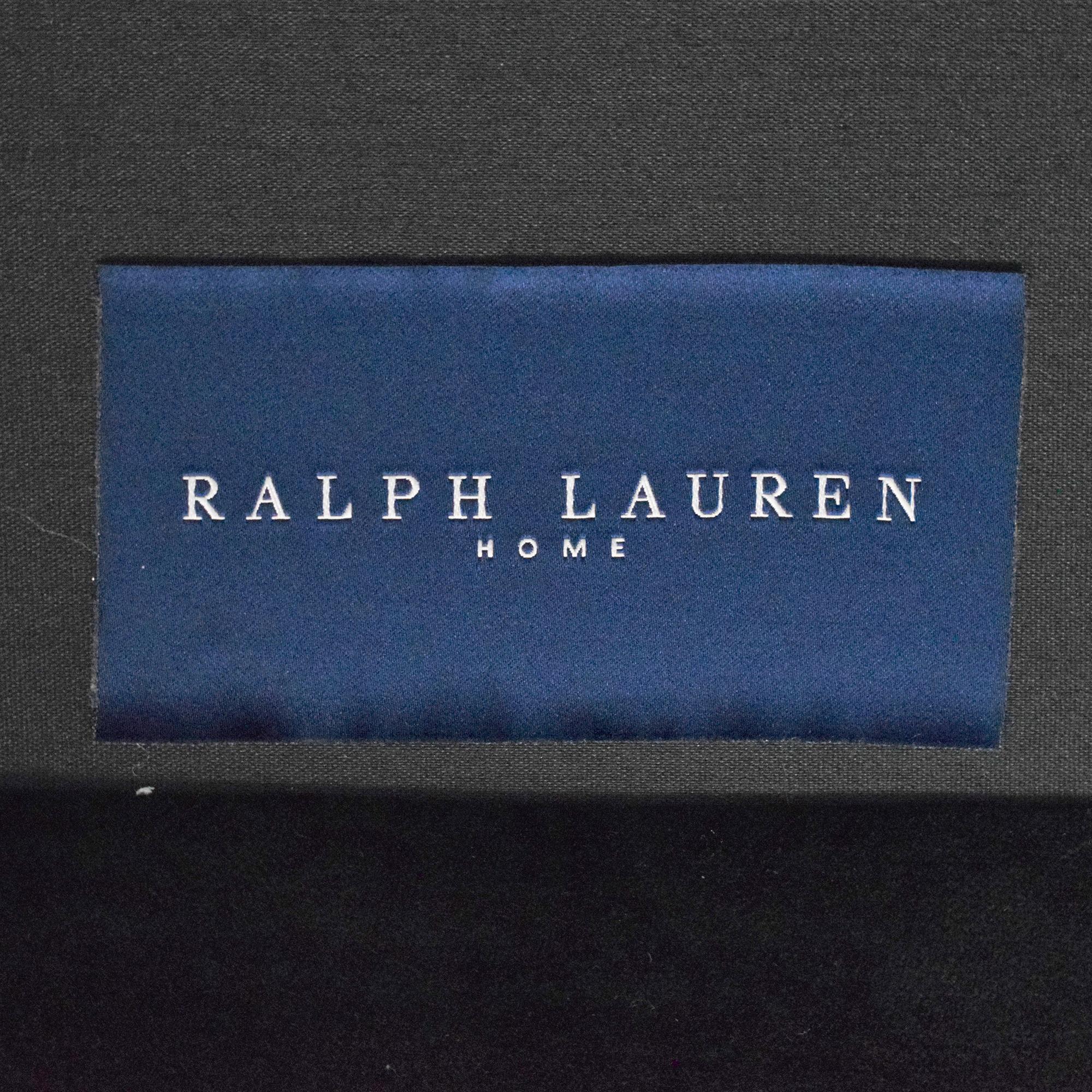 Ralph Lauren Home Ralph Lauren Home Roll Arm Sofa Black