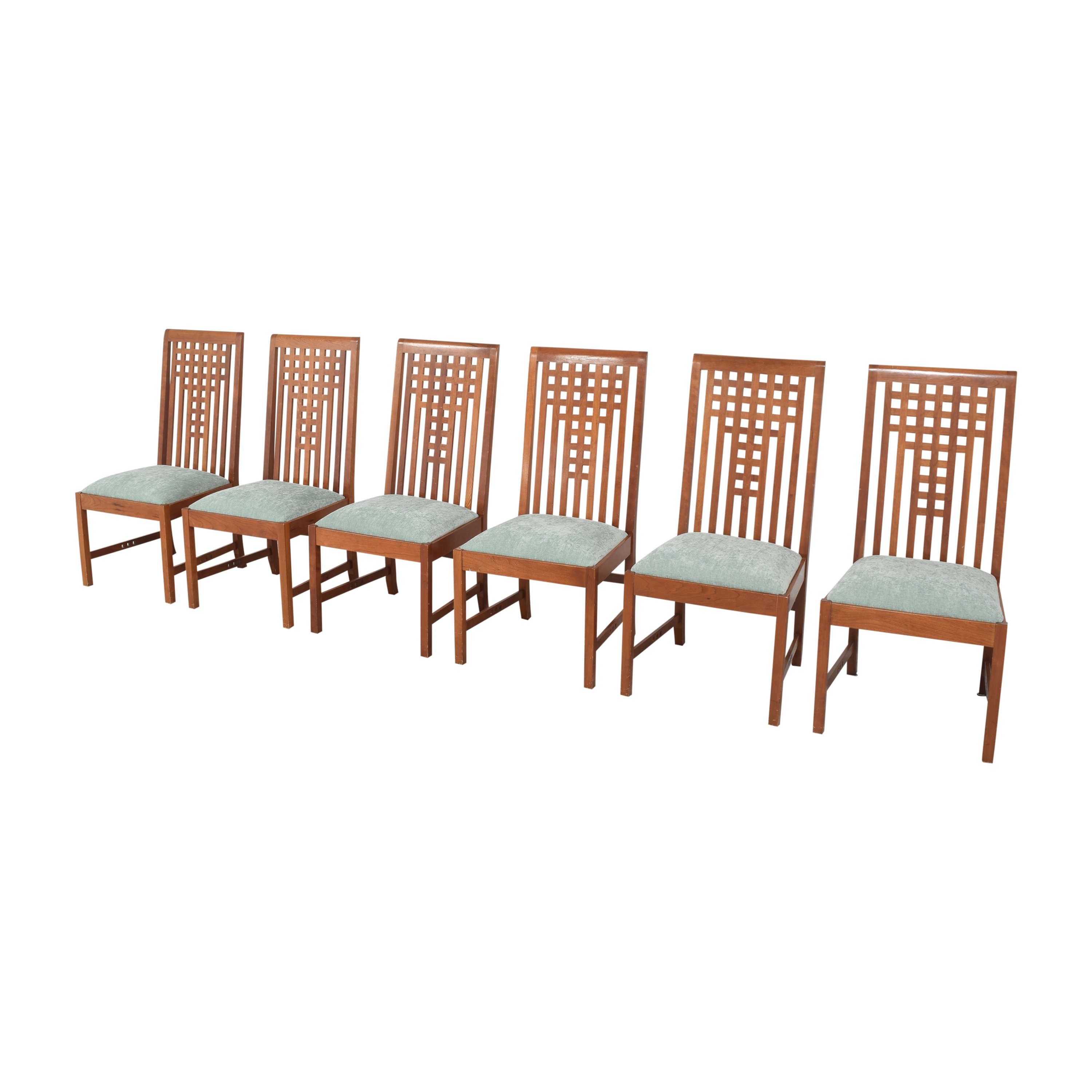 Stickley Furniture Stickley Furniture 21st Century Lattice Dining Side Chairs coupon