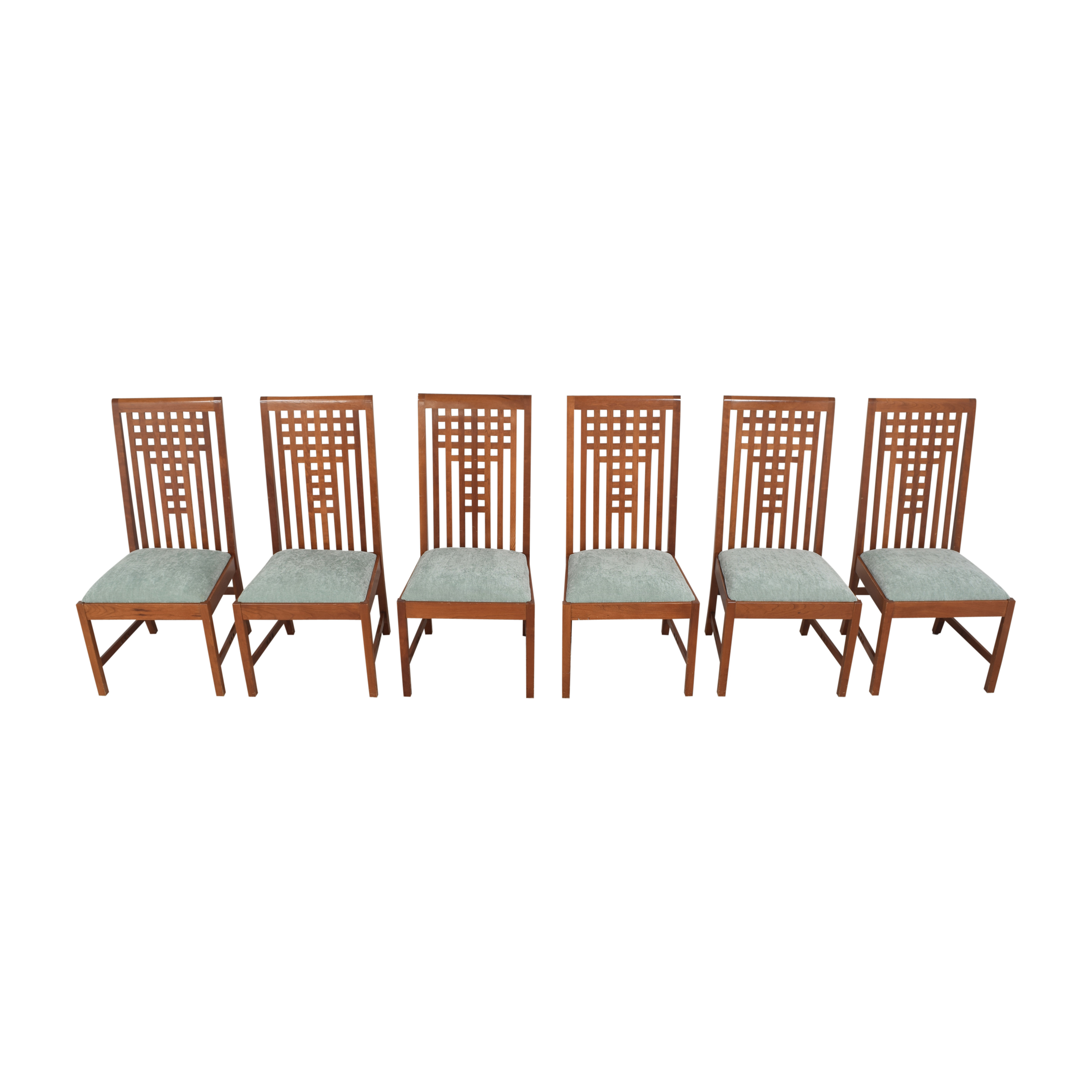 Stickley Furniture Stickley Furniture 21st Century Lattice Dining Side Chairs ma