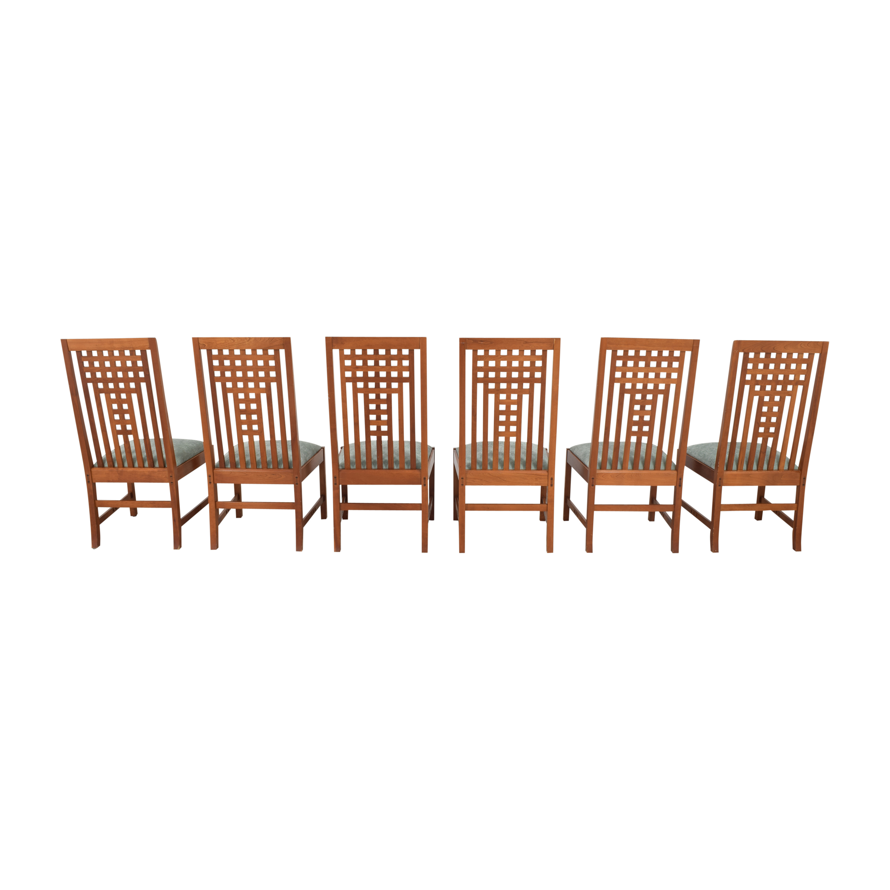 Stickley Furniture Stickley Furniture 21st Century Lattice Dining Side Chairs used