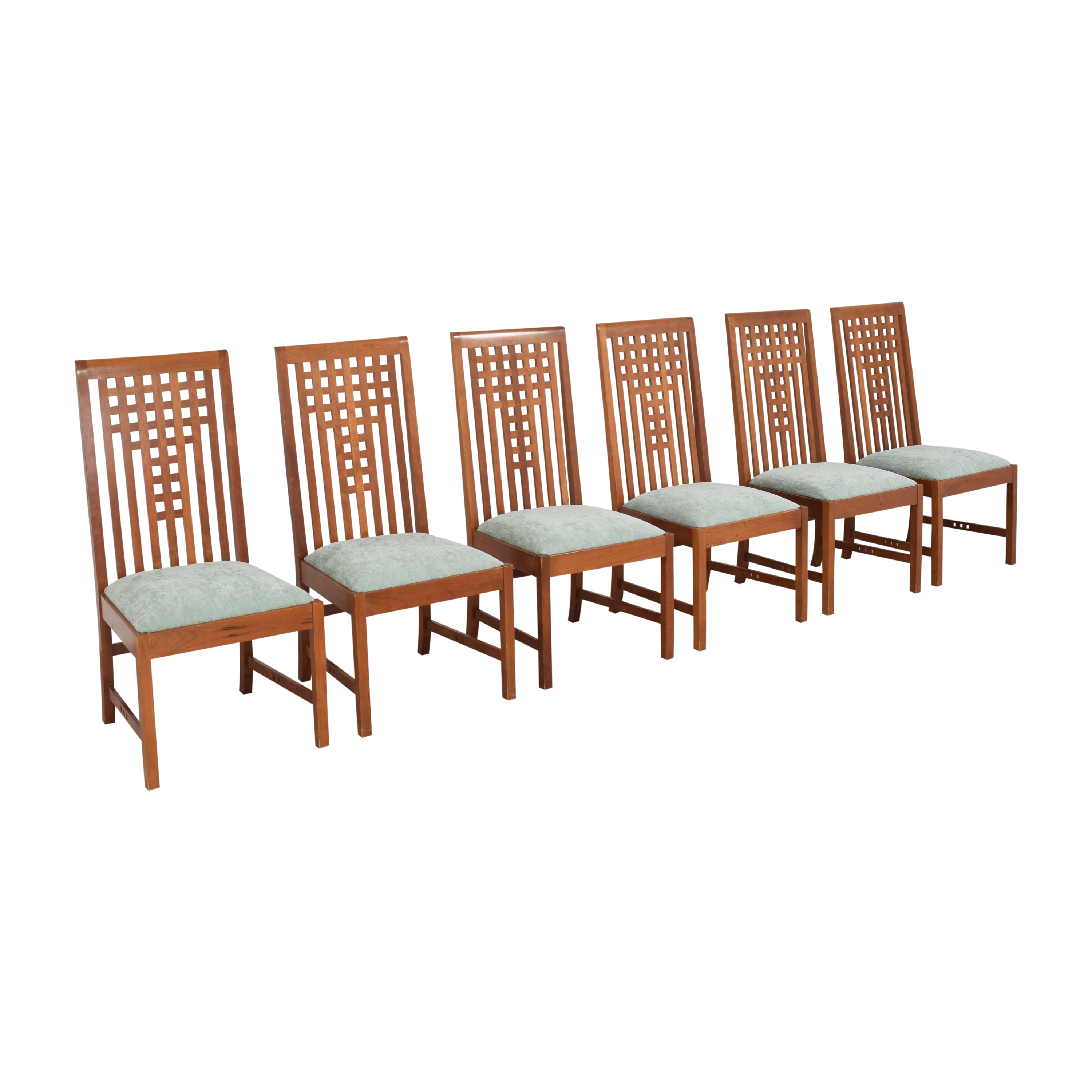 Stickley Furniture Stickley Furniture 21st Century Lattice Dining Side Chairs pa