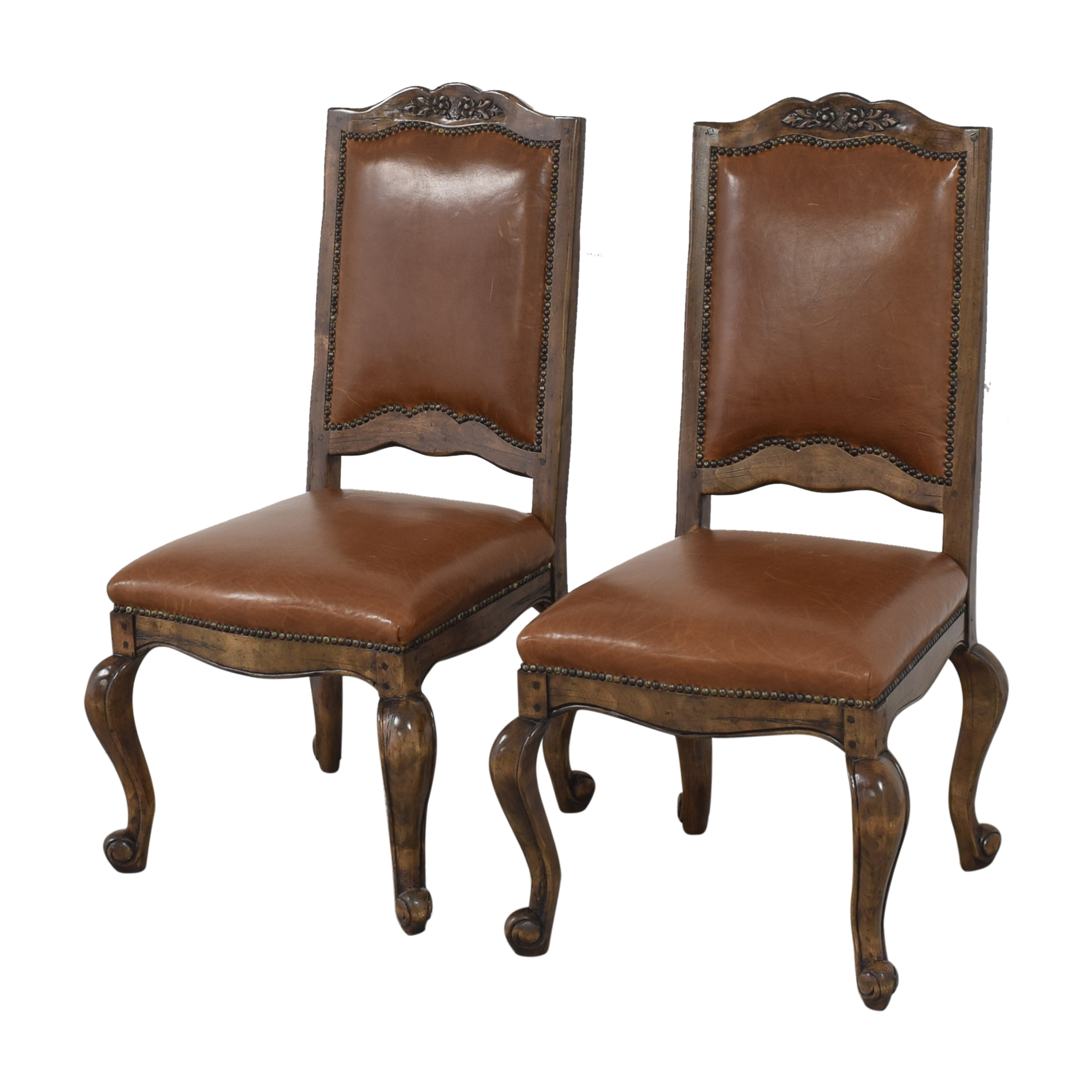 Cabriole Dining Chairs used
